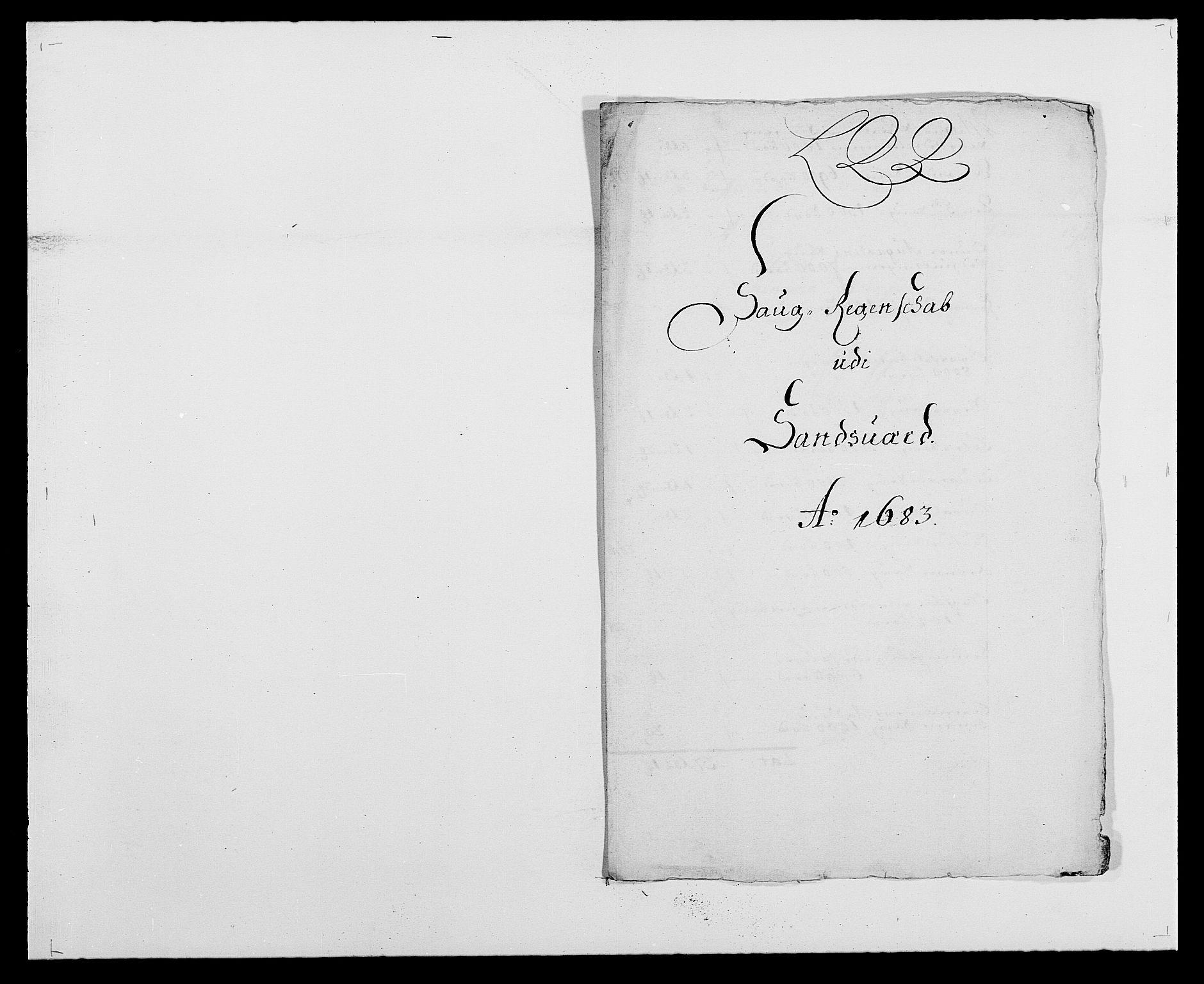 RA, Rentekammeret inntil 1814, Reviderte regnskaper, Fogderegnskap, R24/L1570: Fogderegnskap Numedal og Sandsvær, 1679-1686, s. 347