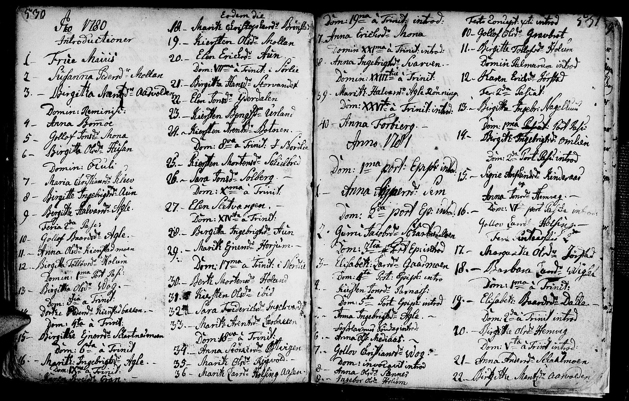 SAT, Ministerialprotokoller, klokkerbøker og fødselsregistre - Nord-Trøndelag, 749/L0467: Ministerialbok nr. 749A01, 1733-1787, s. 530-531