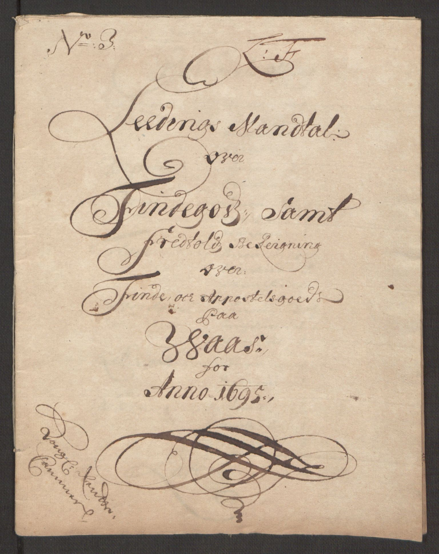 RA, Rentekammeret inntil 1814, Reviderte regnskaper, Fogderegnskap, R48/L2976: Fogderegnskap Sunnhordland og Hardanger, 1695-1696, s. 166