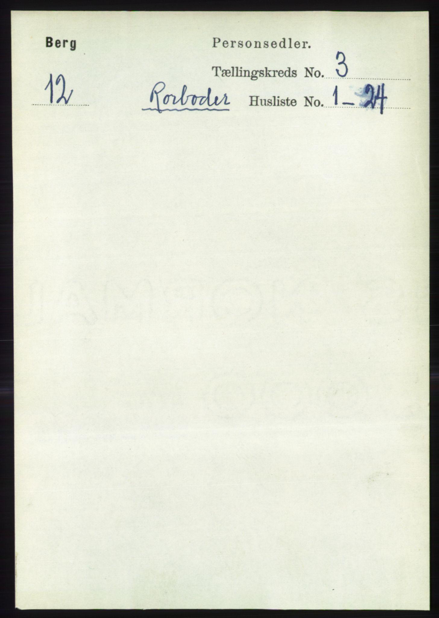 RA, Folketelling 1891 for 1929 Berg herred, 1891, s. 1347