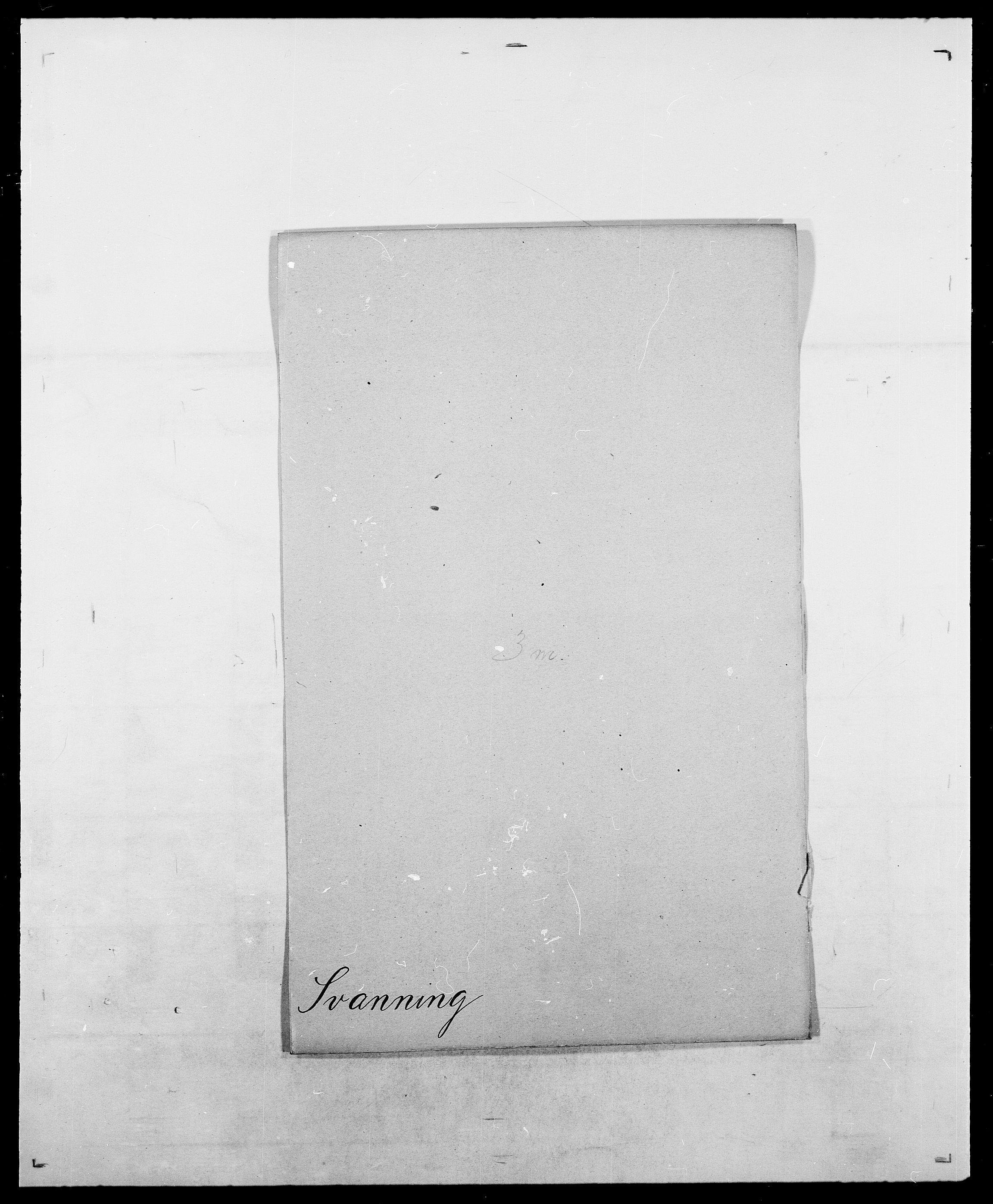SAO, Delgobe, Charles Antoine - samling, D/Da/L0038: Svanenskjold - Thornsohn, s. 4