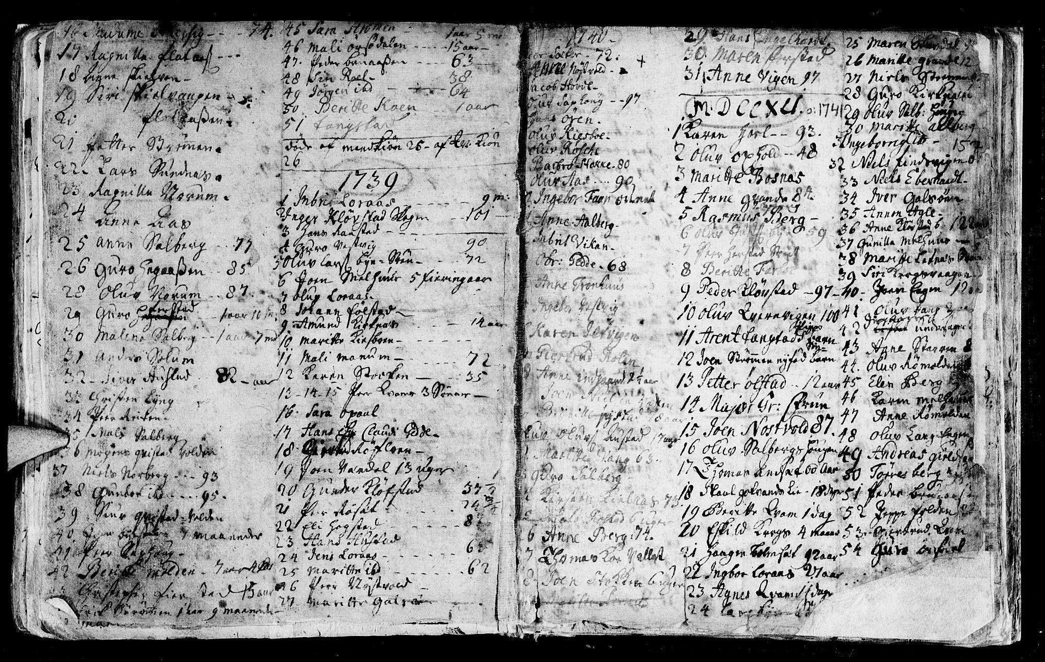 SAT, Ministerialprotokoller, klokkerbøker og fødselsregistre - Nord-Trøndelag, 730/L0272: Ministerialbok nr. 730A01, 1733-1764, s. 157