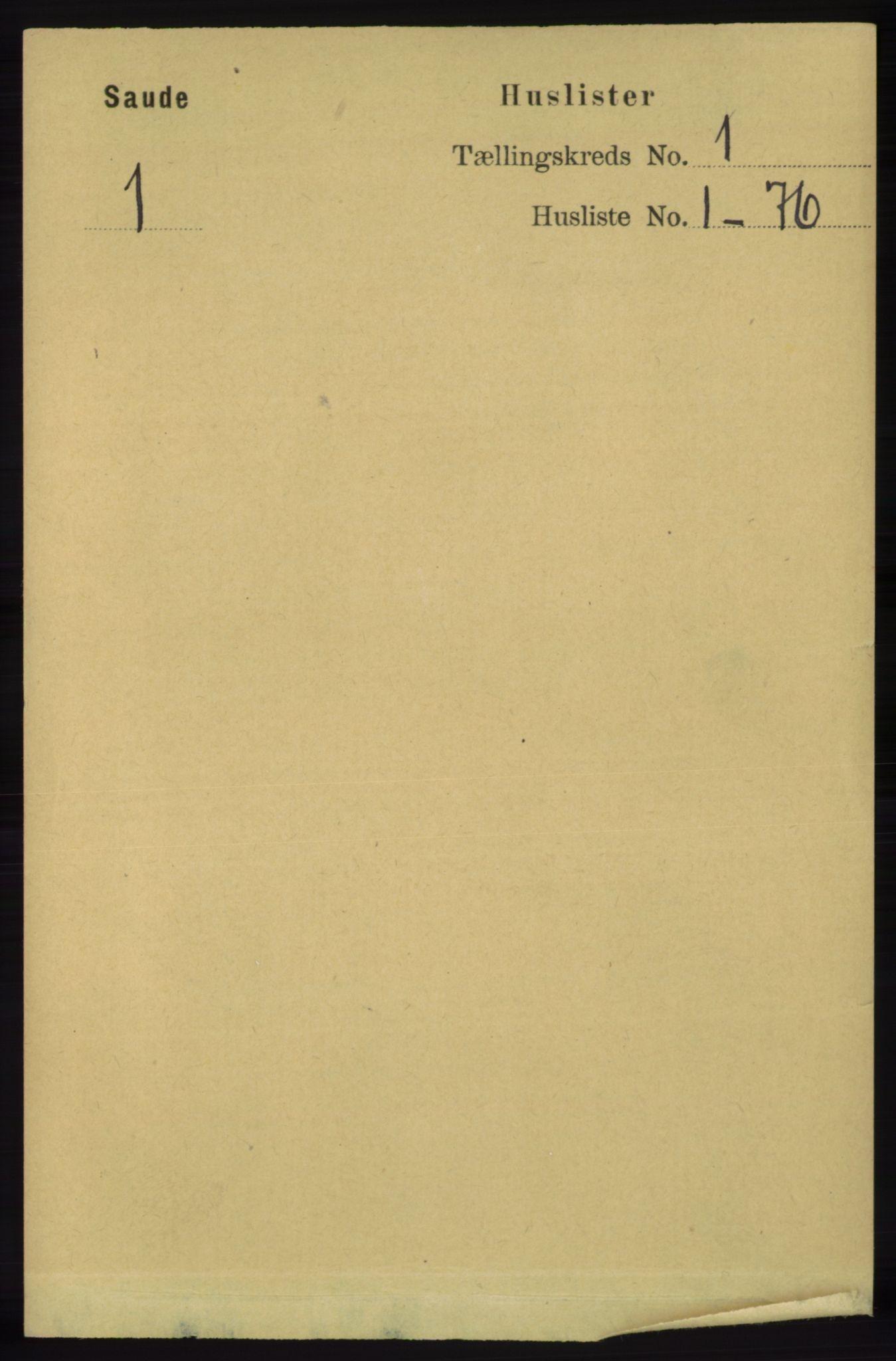 RA, Folketelling 1891 for 1135 Sauda herred, 1891, s. 17