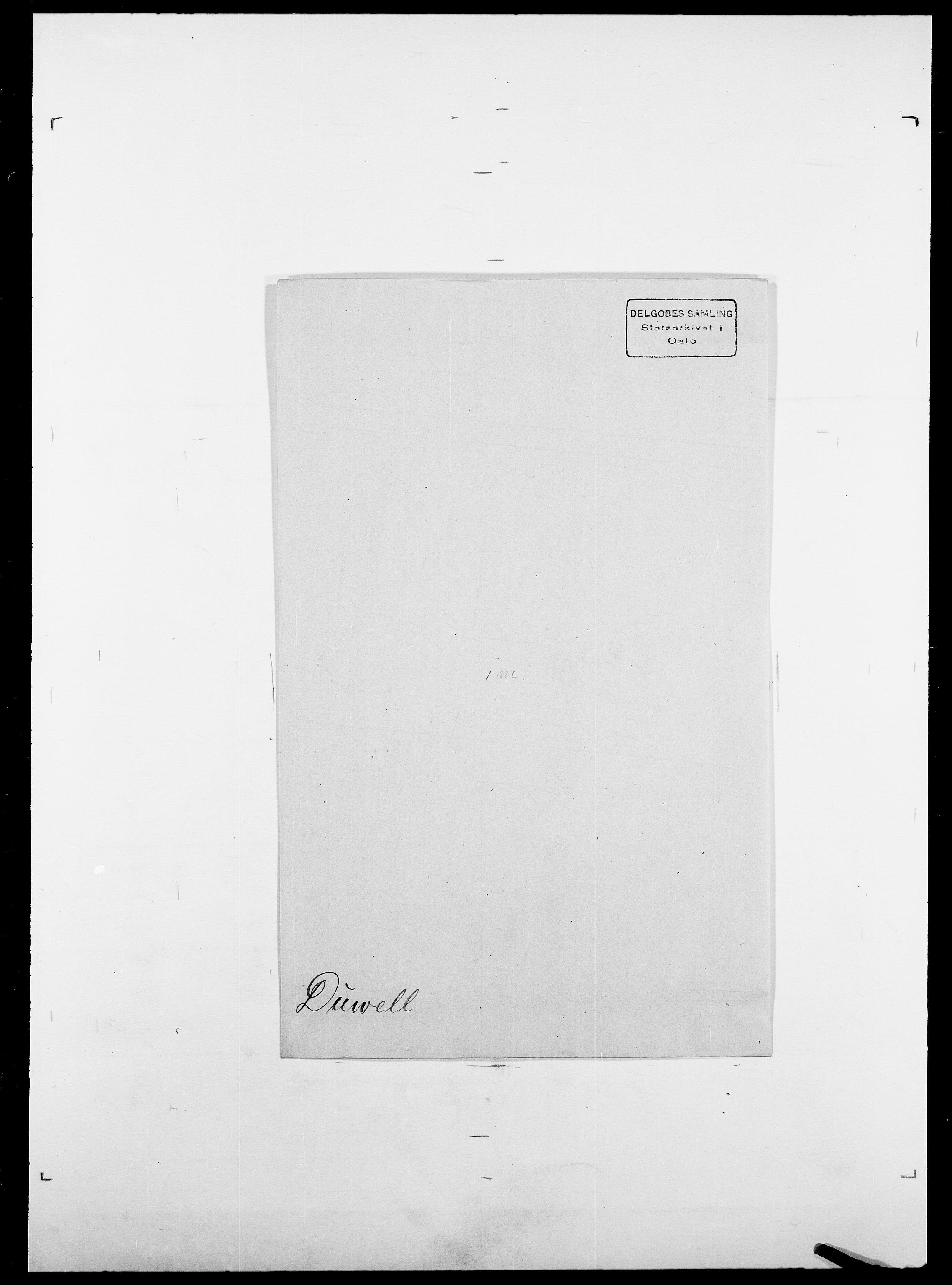 SAO, Delgobe, Charles Antoine - samling, D/Da/L0009: Dahl - v. Düren, s. 872