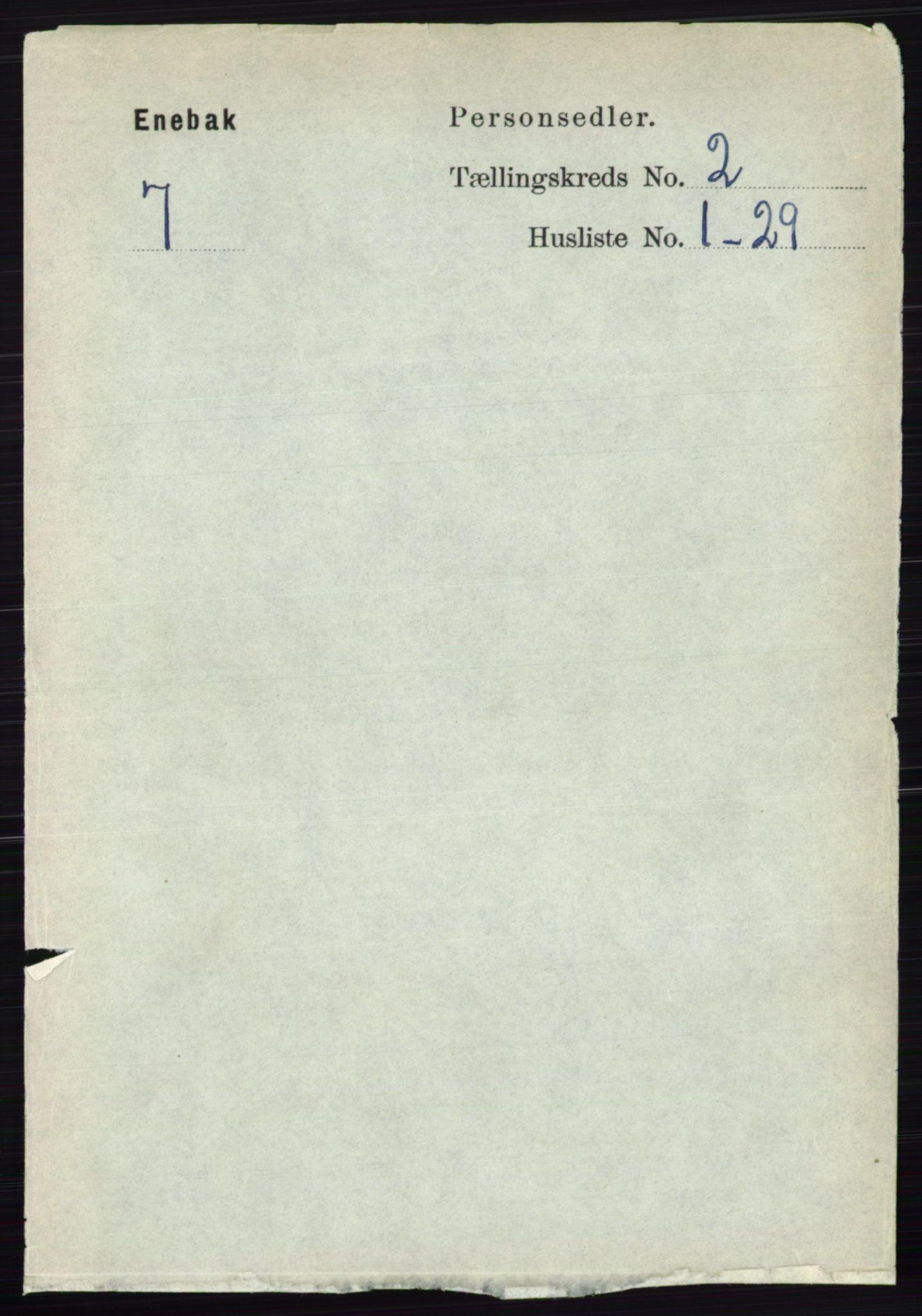 RA, Folketelling 1891 for 0229 Enebakk herred, 1891, s. 767