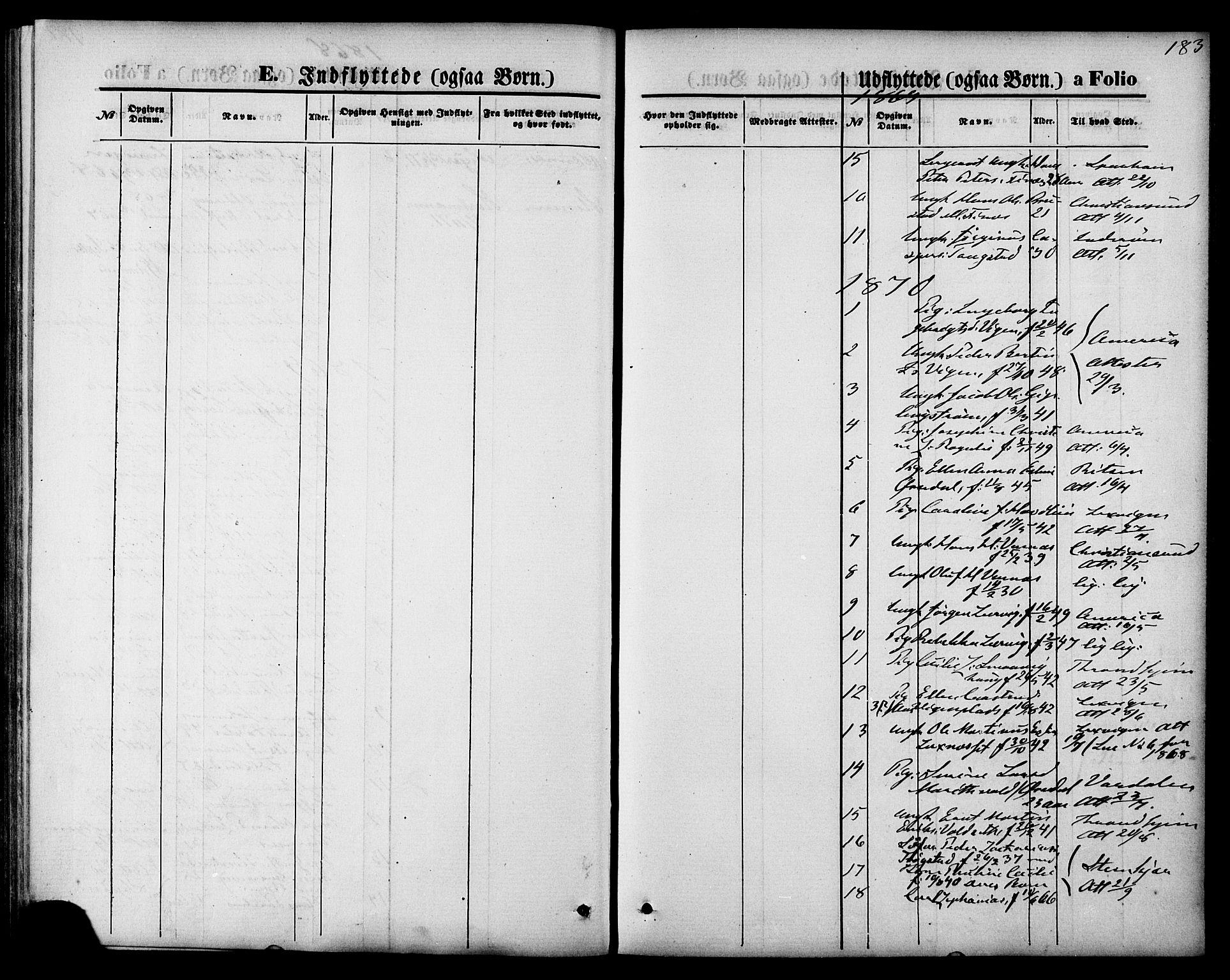 SAT, Ministerialprotokoller, klokkerbøker og fødselsregistre - Nord-Trøndelag, 744/L0419: Ministerialbok nr. 744A03, 1867-1881, s. 183