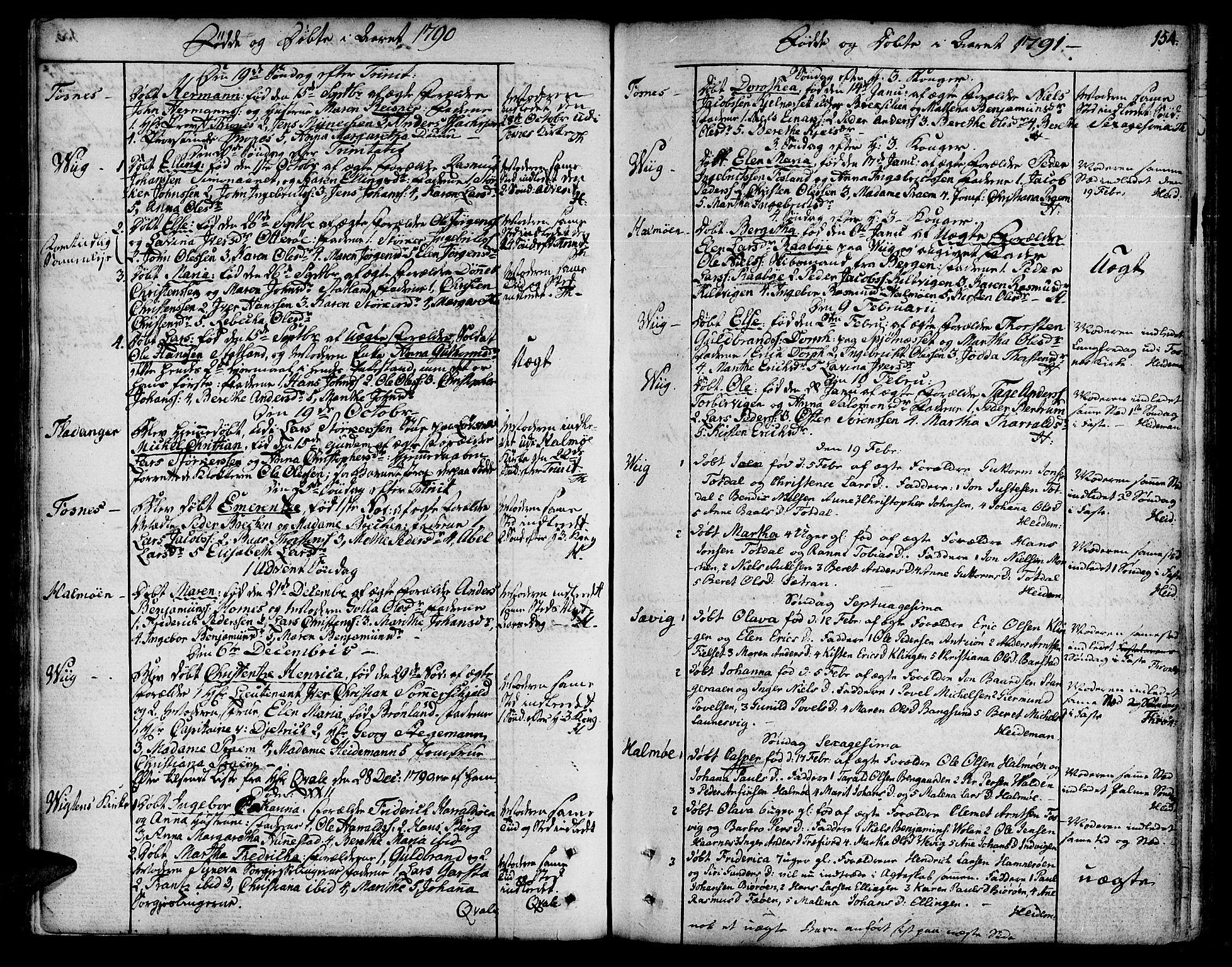 SAT, Ministerialprotokoller, klokkerbøker og fødselsregistre - Nord-Trøndelag, 773/L0608: Ministerialbok nr. 773A02, 1784-1816, s. 154