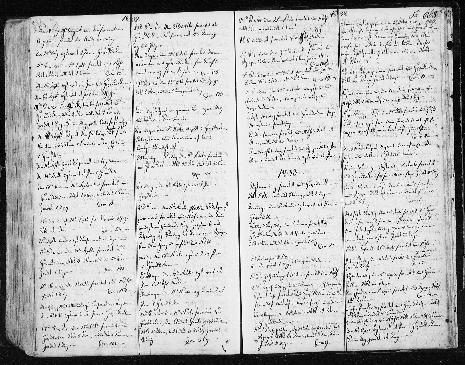 SAT, Ministerialprotokoller, klokkerbøker og fødselsregistre - Sør-Trøndelag, 659/L0735: Ministerialbok nr. 659A05, 1826-1841, s. 668