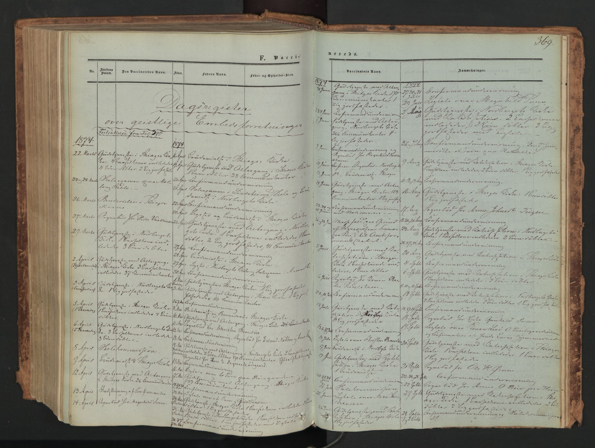 SAH, Skjåk prestekontor, Ministerialbok nr. 1, 1863-1879, s. 369