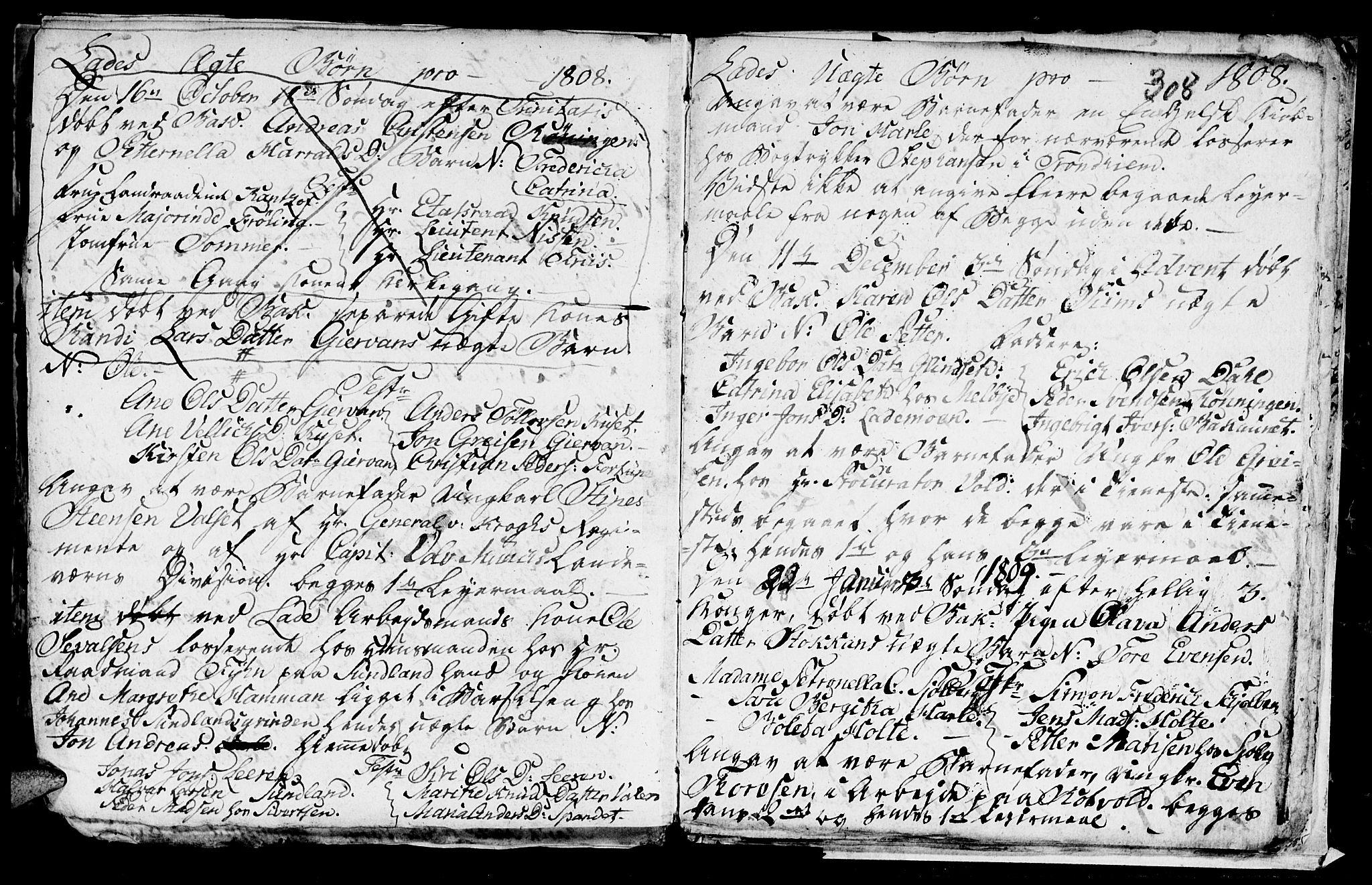 SAT, Ministerialprotokoller, klokkerbøker og fødselsregistre - Sør-Trøndelag, 606/L0305: Klokkerbok nr. 606C01, 1757-1819, s. 308