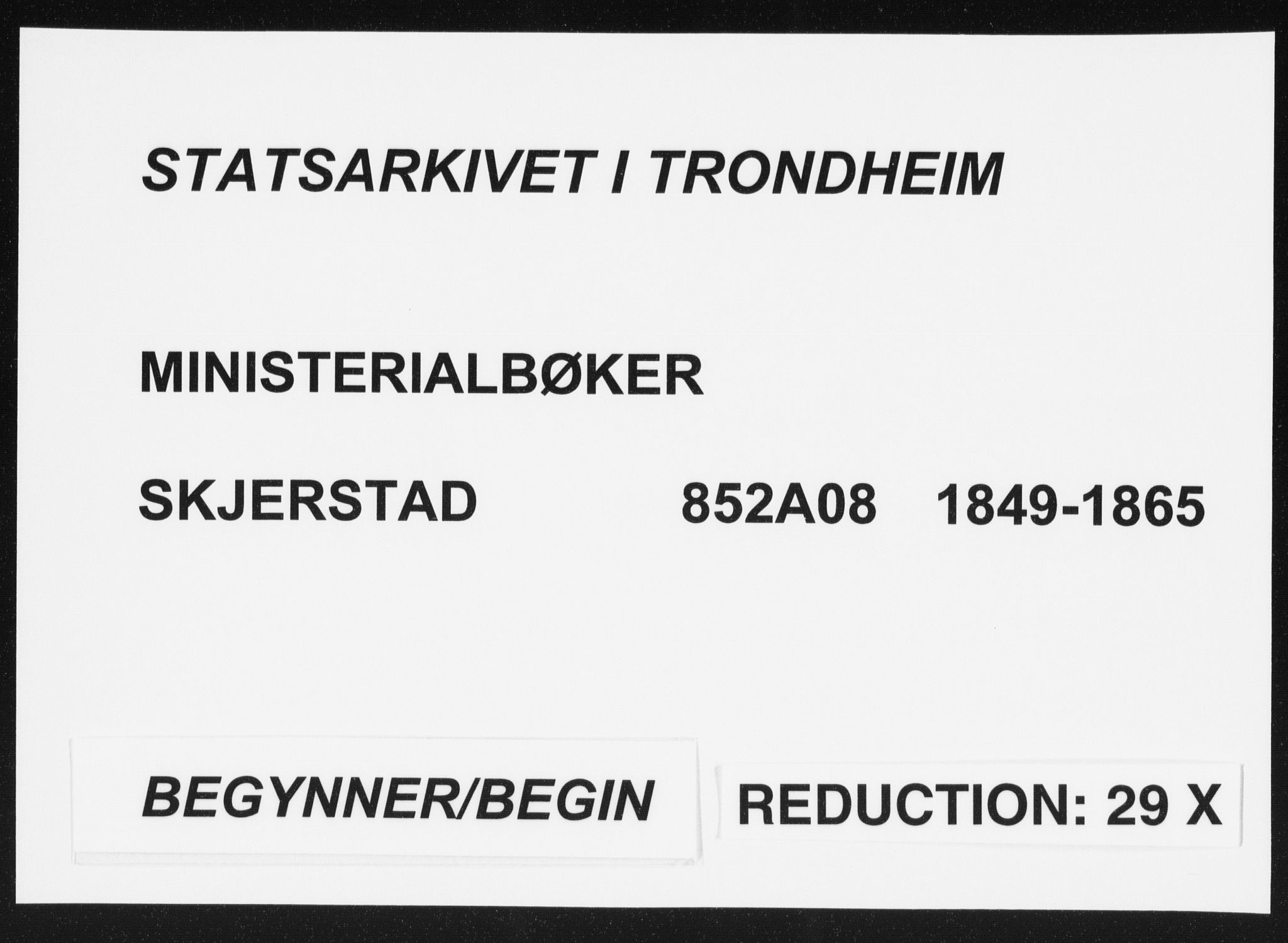 SAT, Ministerialprotokoller, klokkerbøker og fødselsregistre - Nordland, 852/L0738: Ministerialbok nr. 852A08, 1849-1865
