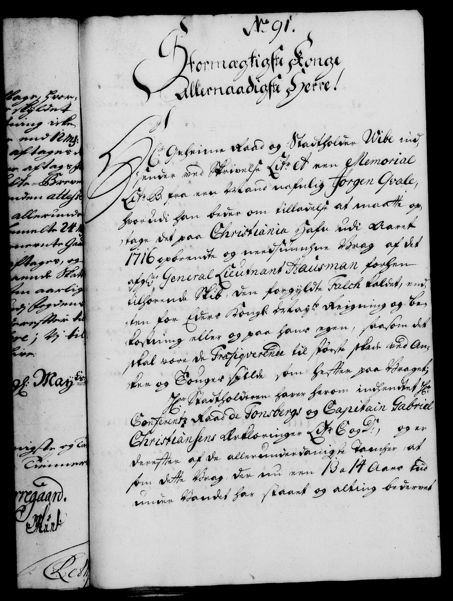 RA, Rentekammeret, Kammerkanselliet, G/Gf/Gfa/L0013: Norsk relasjons- og resolusjonsprotokoll (merket RK 52.13), 1730, s. 503