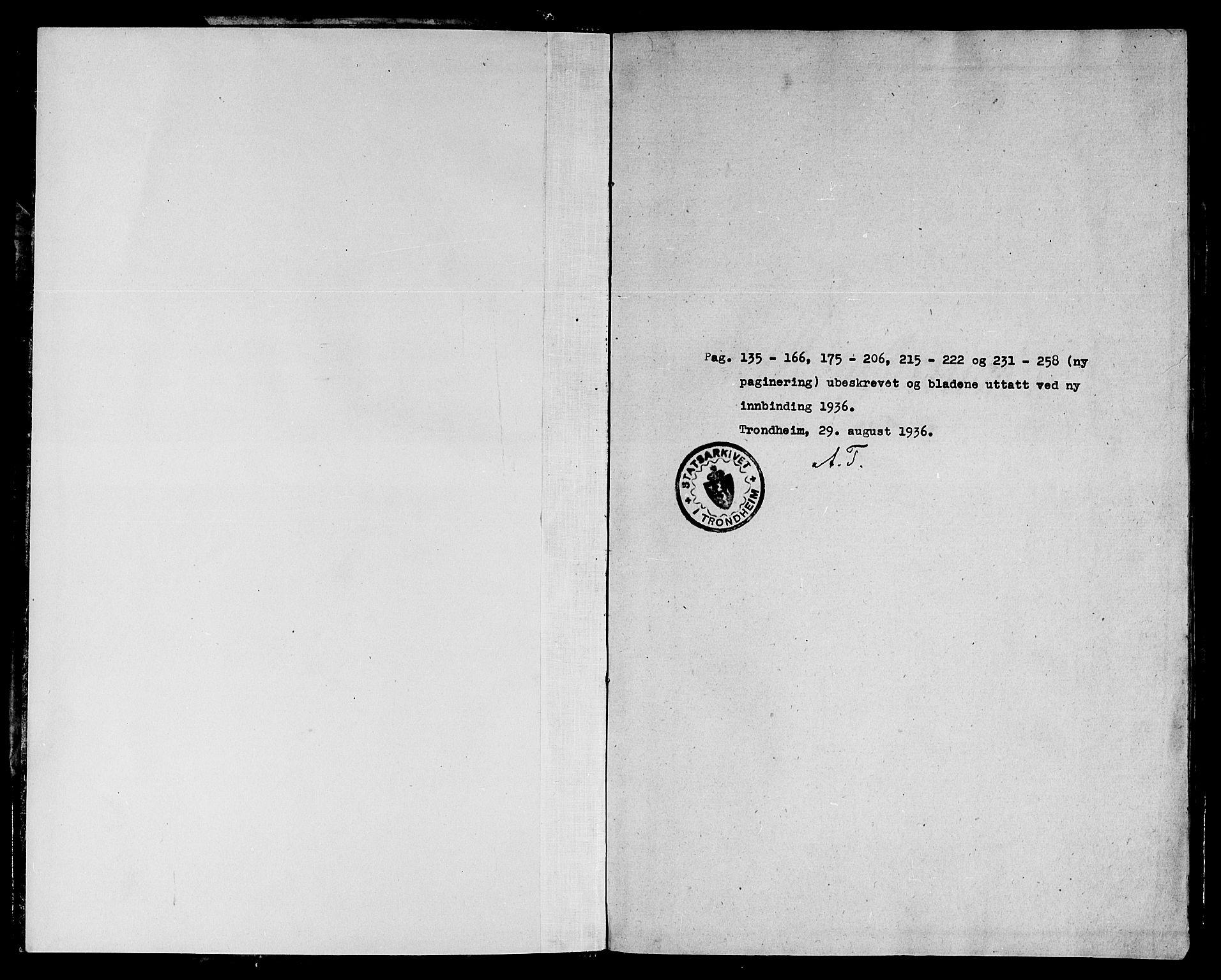 SAT, Ministerialprotokoller, klokkerbøker og fødselsregistre - Sør-Trøndelag, 668/L0801: Ministerialbok nr. 668A01, 1695-1716