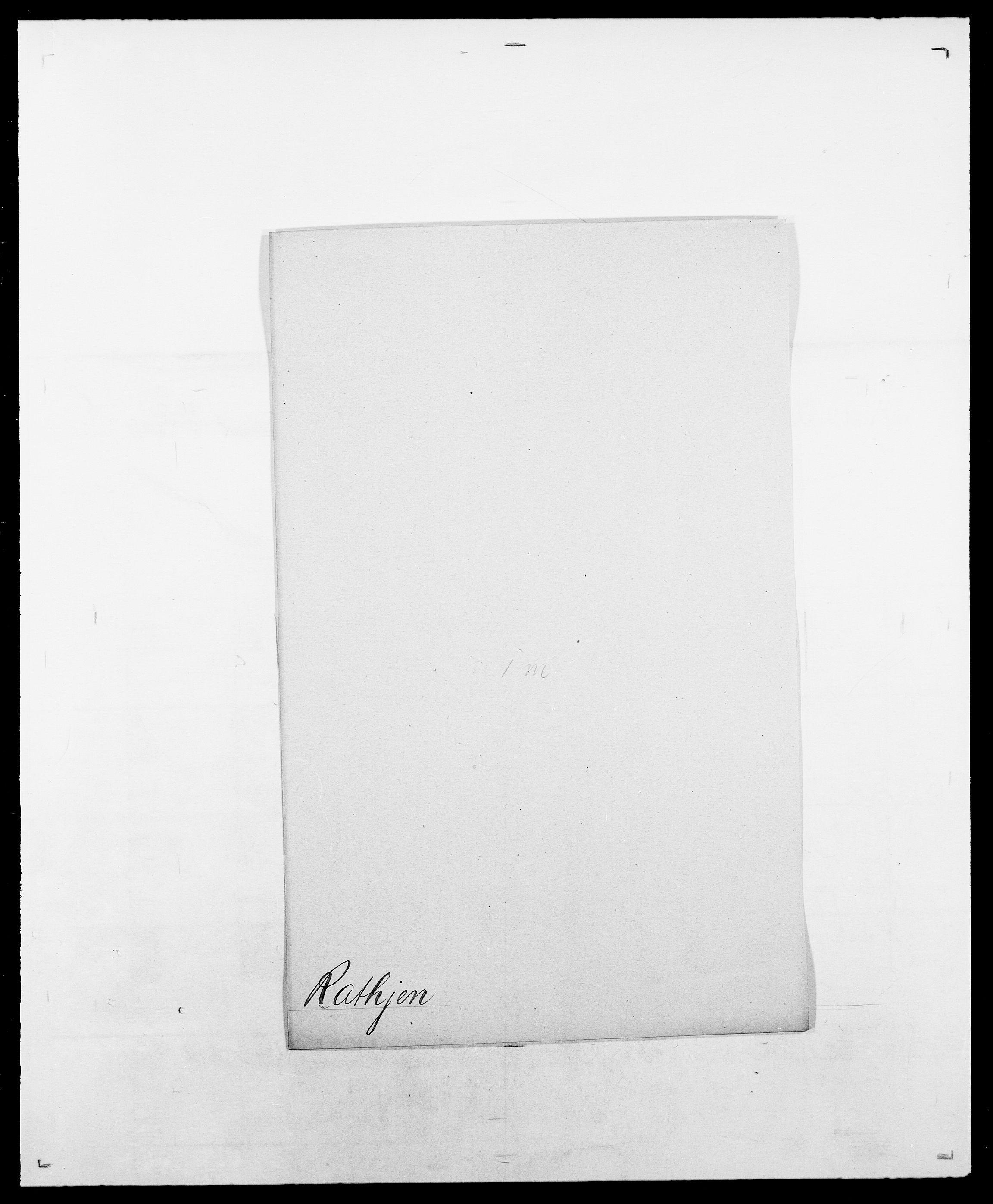 SAO, Delgobe, Charles Antoine - samling, D/Da/L0032: Rabakovsky - Rivertz, s. 189