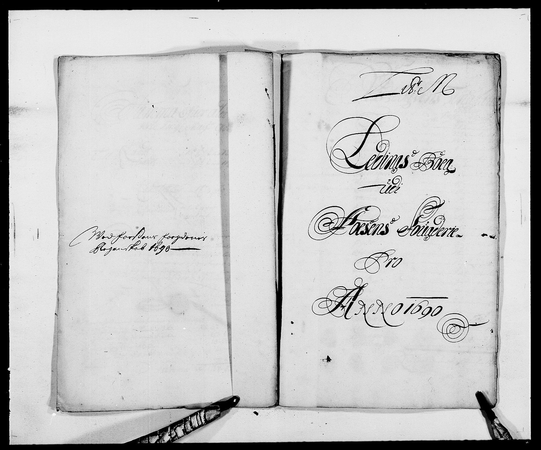 RA, Rentekammeret inntil 1814, Reviderte regnskaper, Fogderegnskap, R57/L3848: Fogderegnskap Fosen, 1690-1691, s. 163