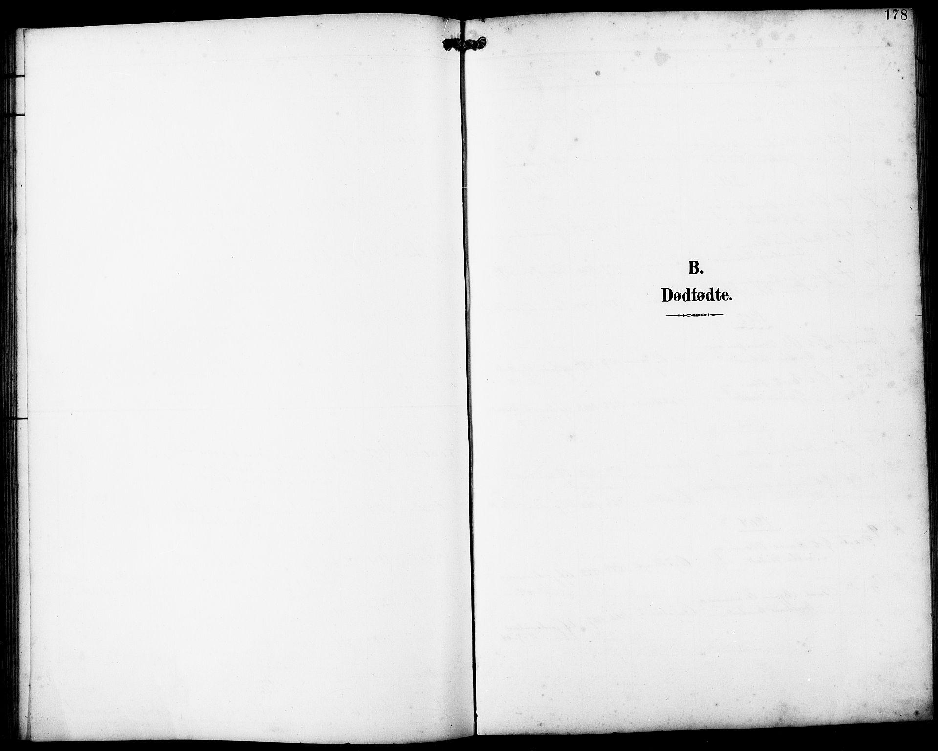 SAB, Fjell sokneprestembete, H/Hab: Klokkerbok nr. A 5, 1899-1918, s. 178