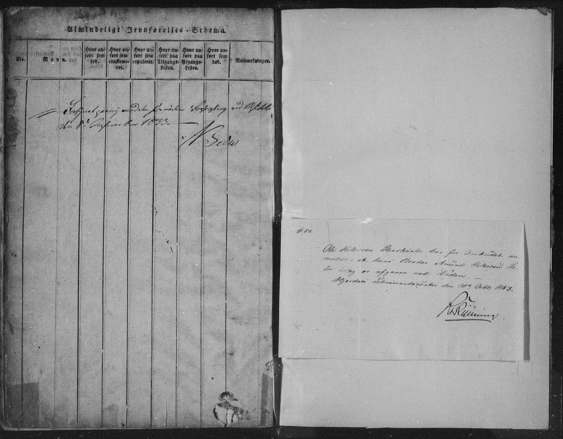 SAKO, Hjartdal kirkebøker, F/Fc/L0001: Ministerialbok nr. III 1, 1815-1843