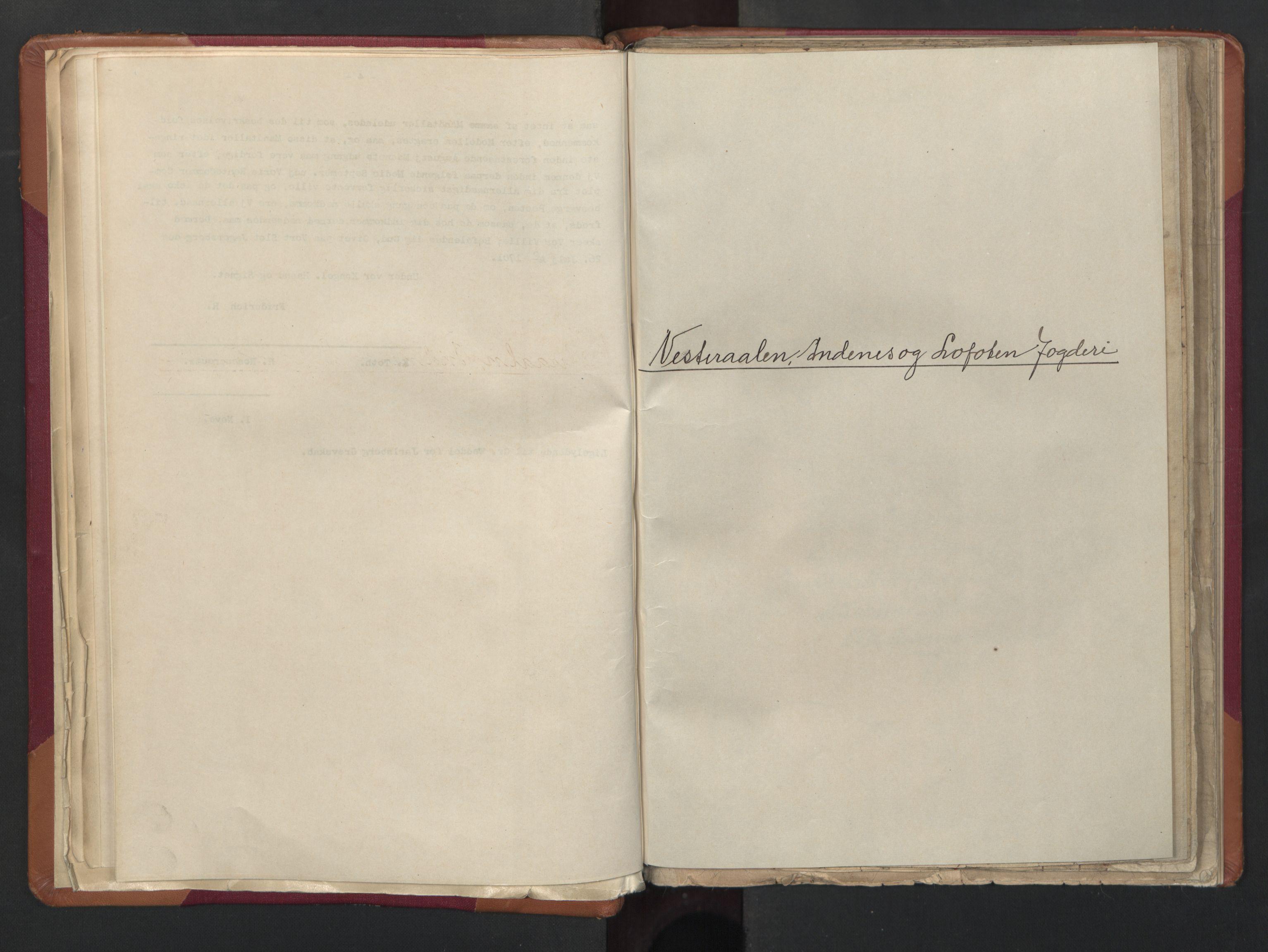 RA, Manntallet 1701, nr. 18: Vesterålen, Andenes og Lofoten fogderi, 1701, s. upaginert