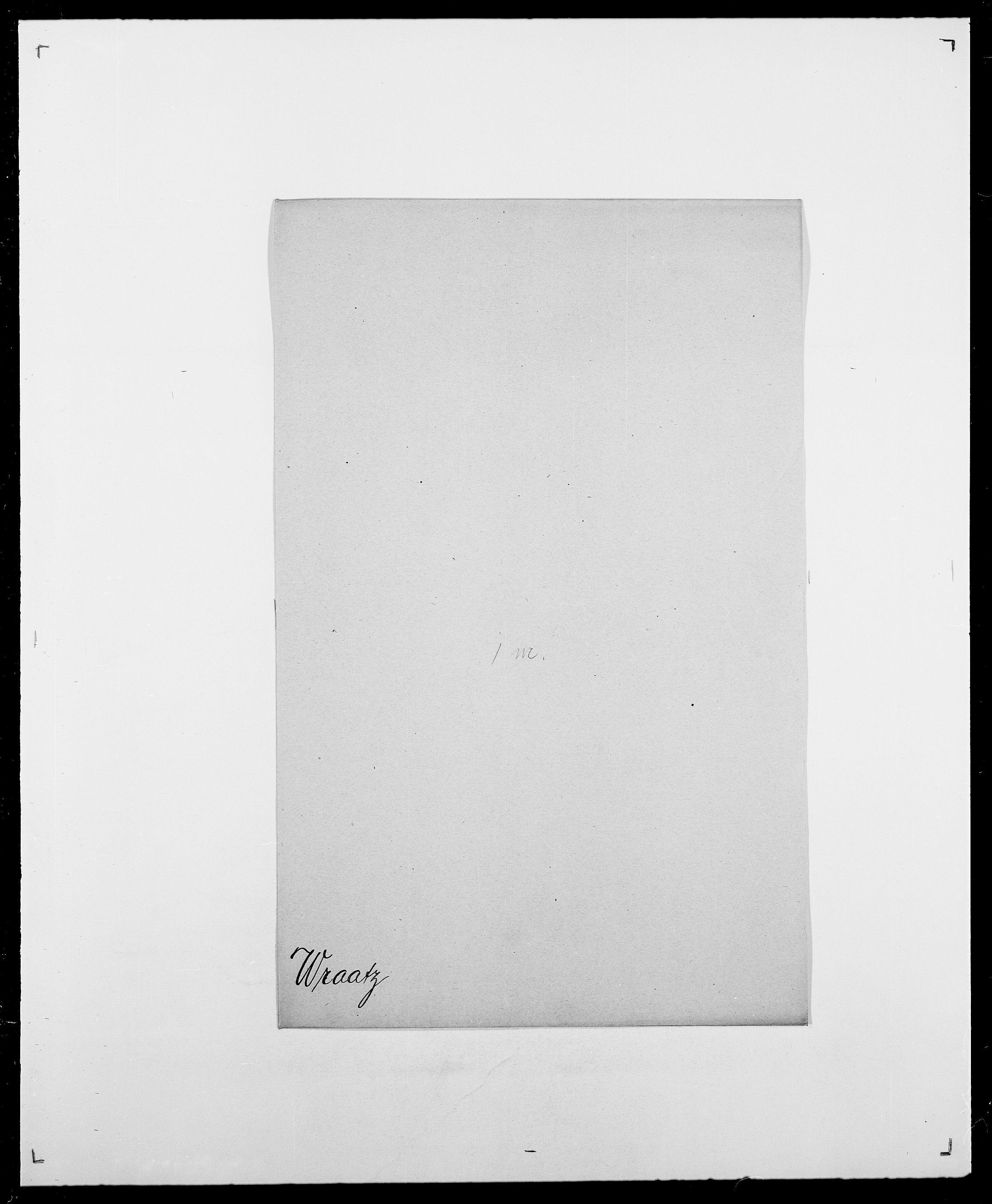SAO, Delgobe, Charles Antoine - samling, D/Da/L0042: Vilain - Wulf, Wulff, se også Wolf, s. 725