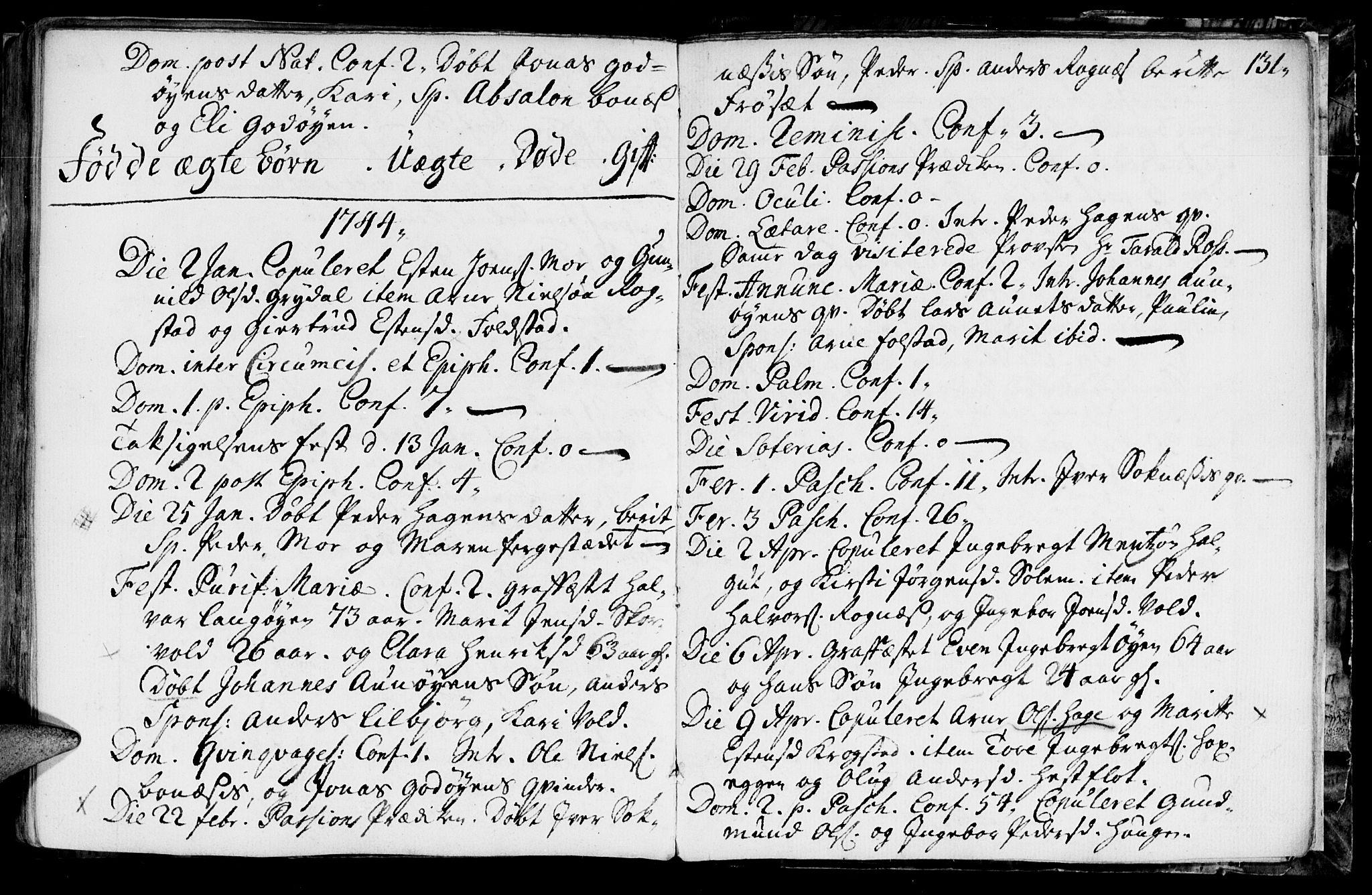 SAT, Ministerialprotokoller, klokkerbøker og fødselsregistre - Sør-Trøndelag, 687/L0990: Ministerialbok nr. 687A01, 1690-1746, s. 131