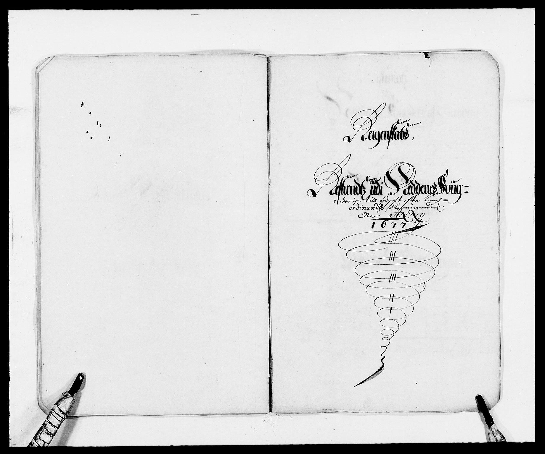 RA, Rentekammeret inntil 1814, Reviderte regnskaper, Fogderegnskap, R39/L2302: Fogderegnskap Nedenes, 1677-1678, s. 175