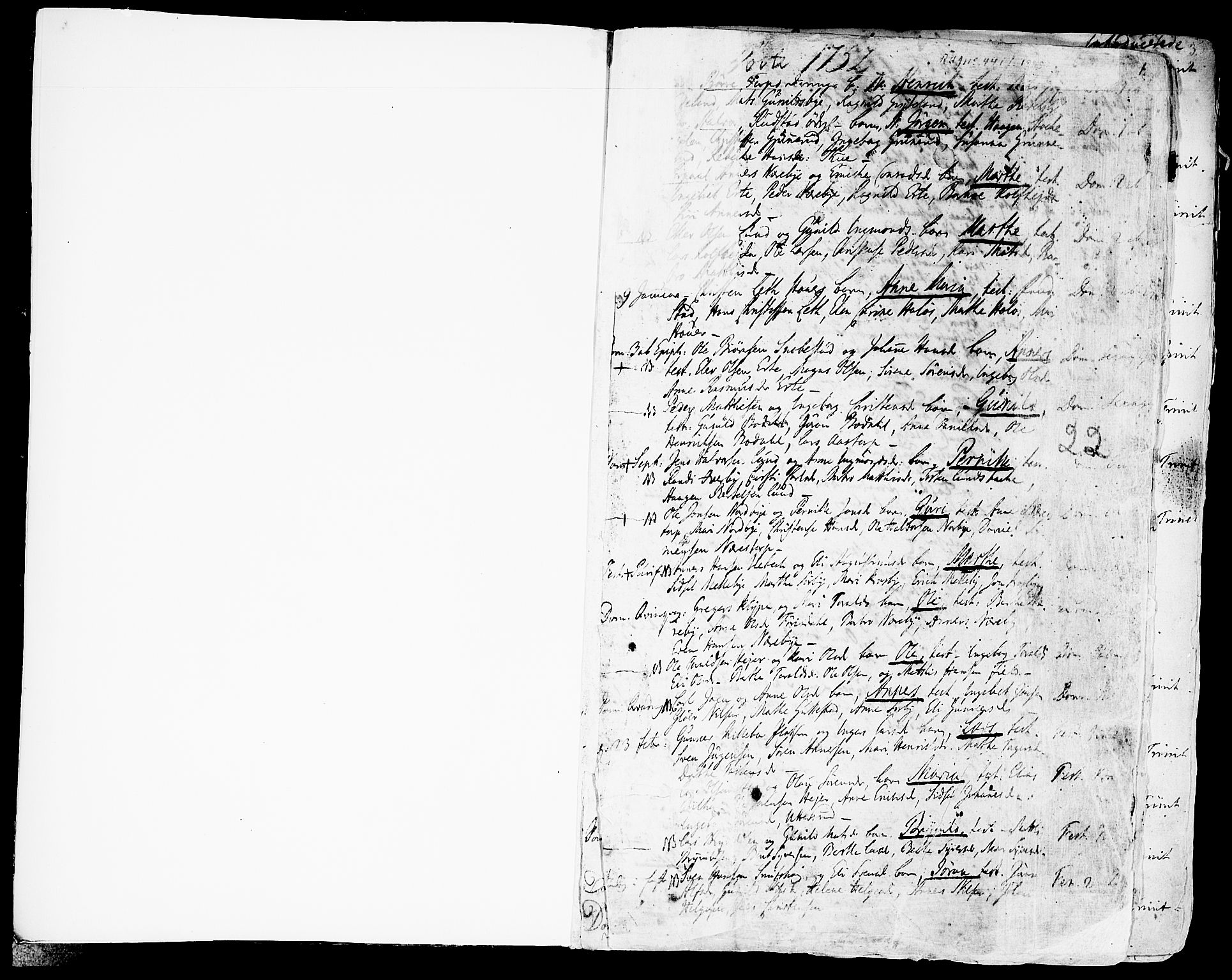 SAO, Rakkestad prestekontor Kirkebøker, F/Fa/L0003: Ministerialbok nr. I 3, 1752-1777, s. 1