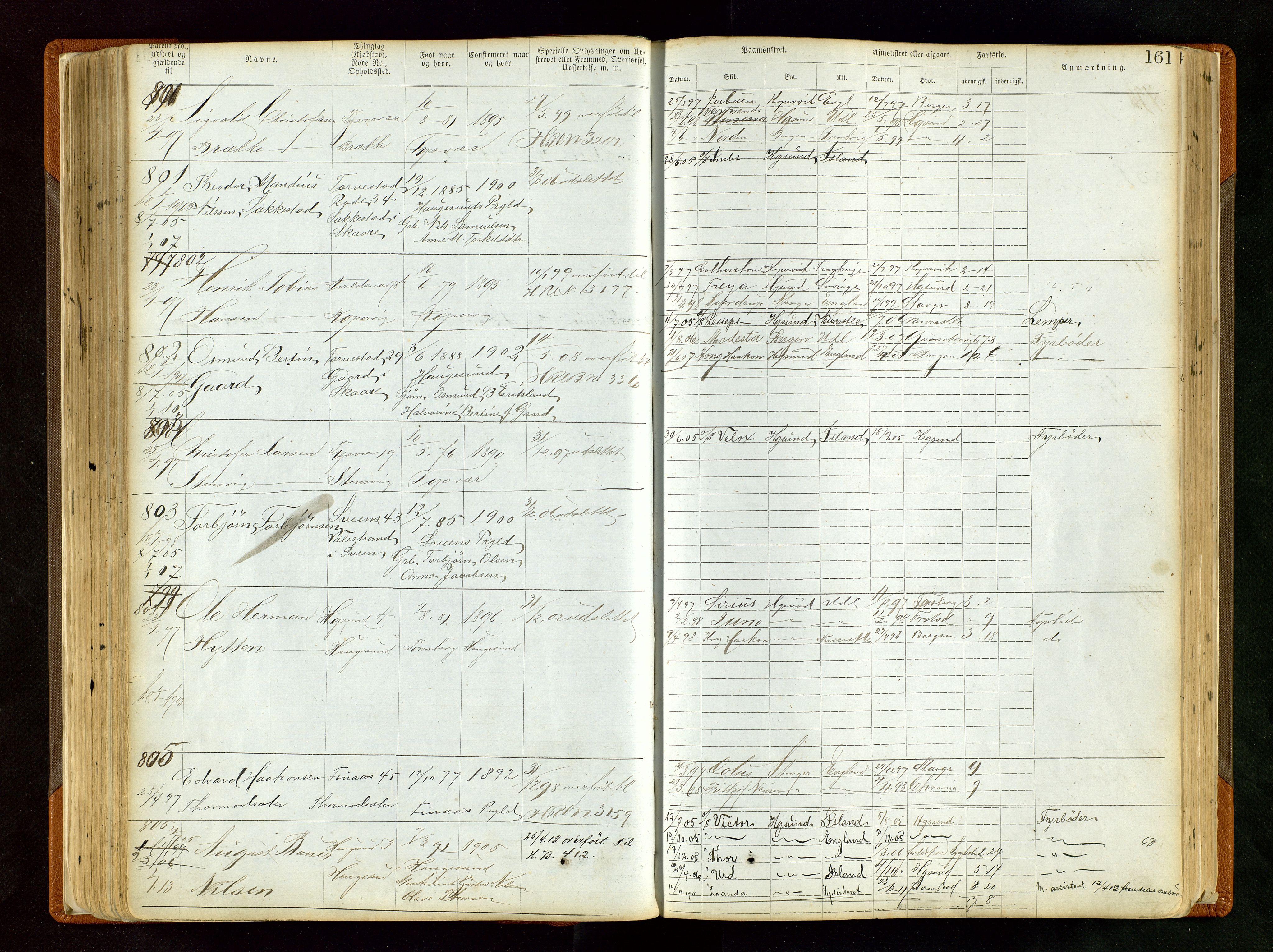 SAST, Haugesund sjømannskontor*, s. 161