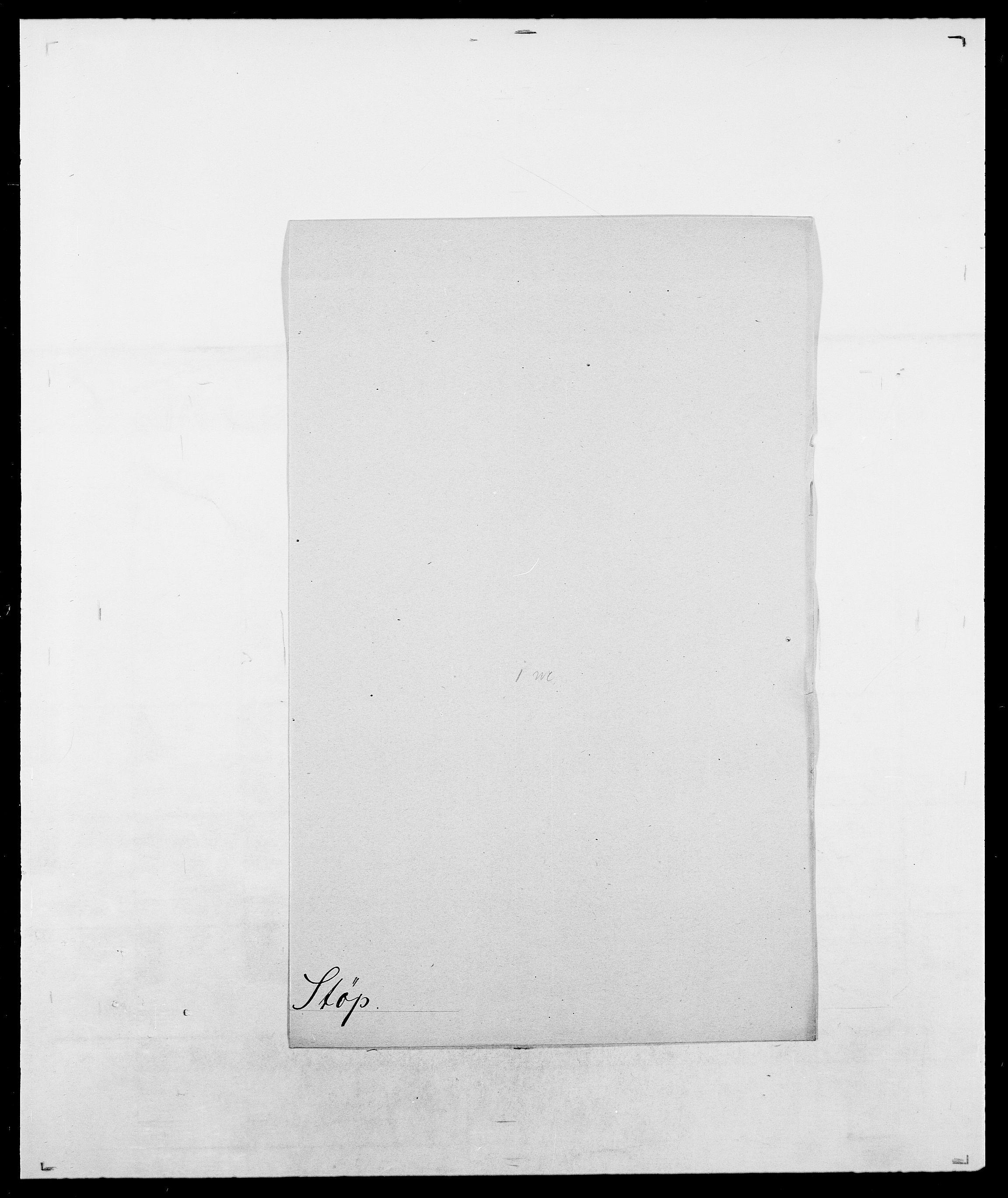SAO, Delgobe, Charles Antoine - samling, D/Da/L0037: Steen, Sthen, Stein - Svare, Svanige, Svanne, se også Svanning og Schwane, s. 838