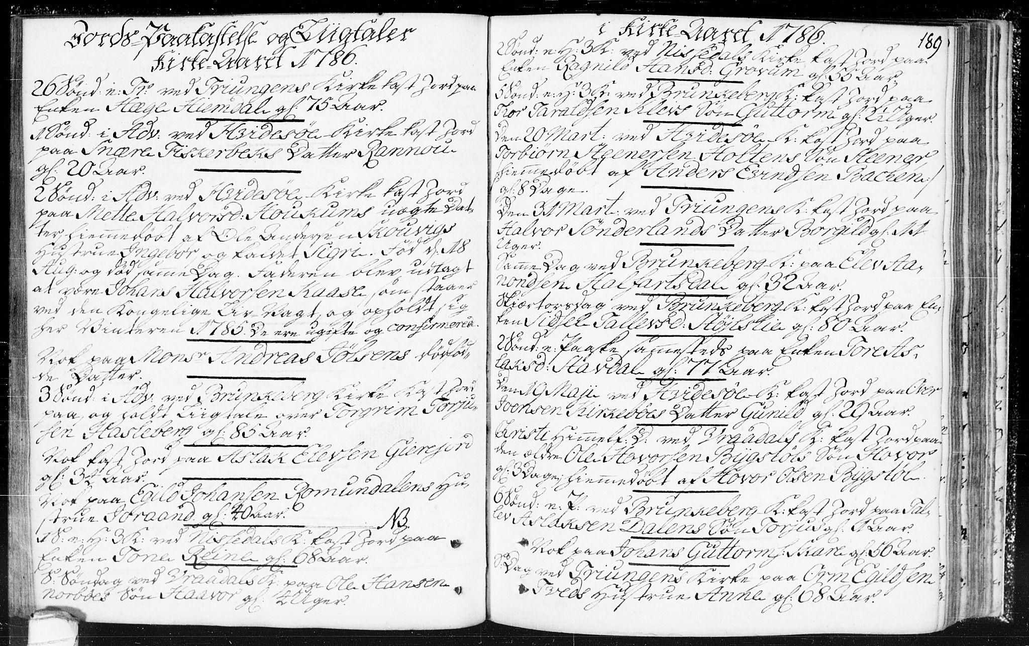 SAKO, Kviteseid kirkebøker, F/Fa/L0002: Ministerialbok nr. I 2, 1773-1786, s. 189