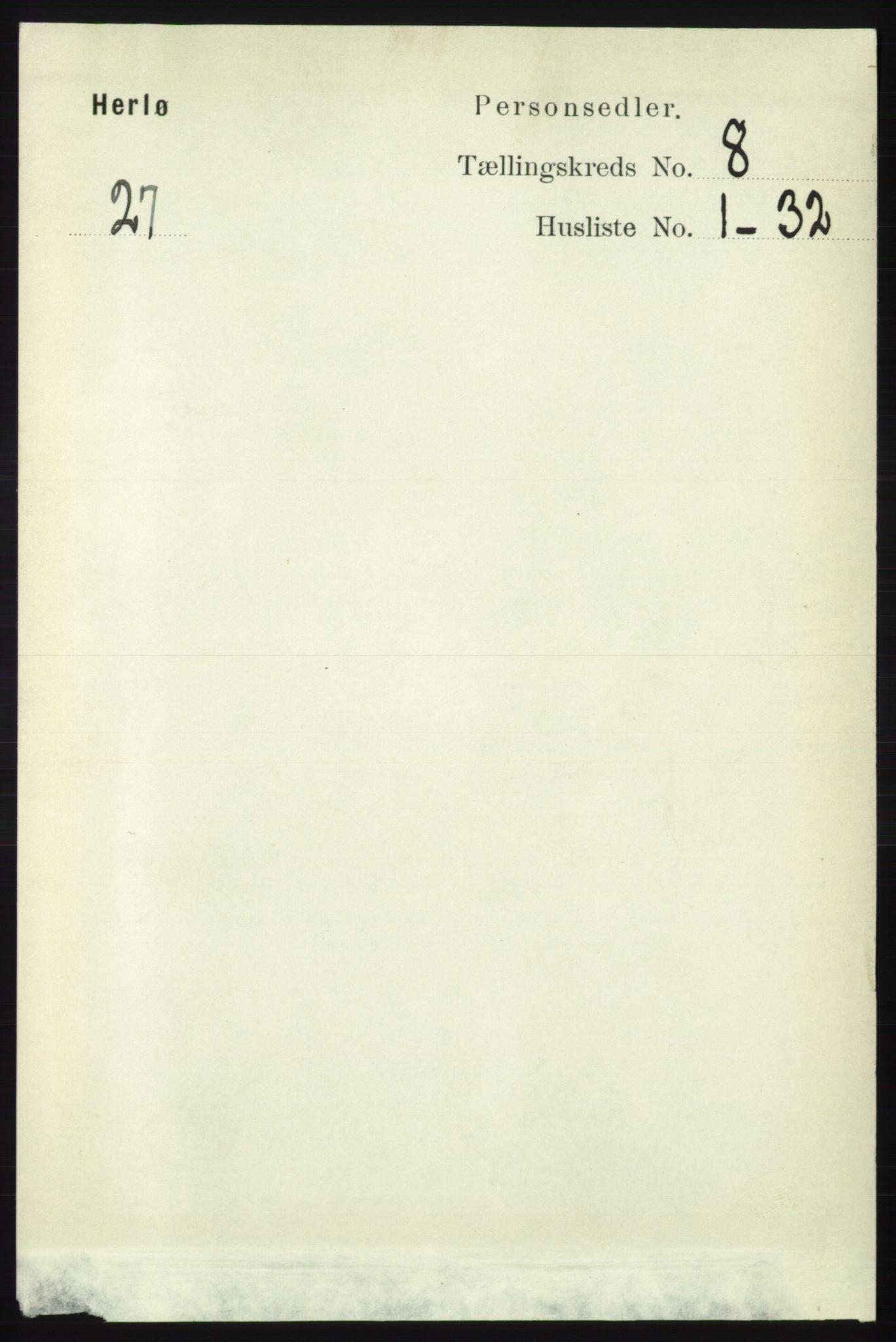 RA, Folketelling 1891 for 1258 Herdla herred, 1891, s. 3427