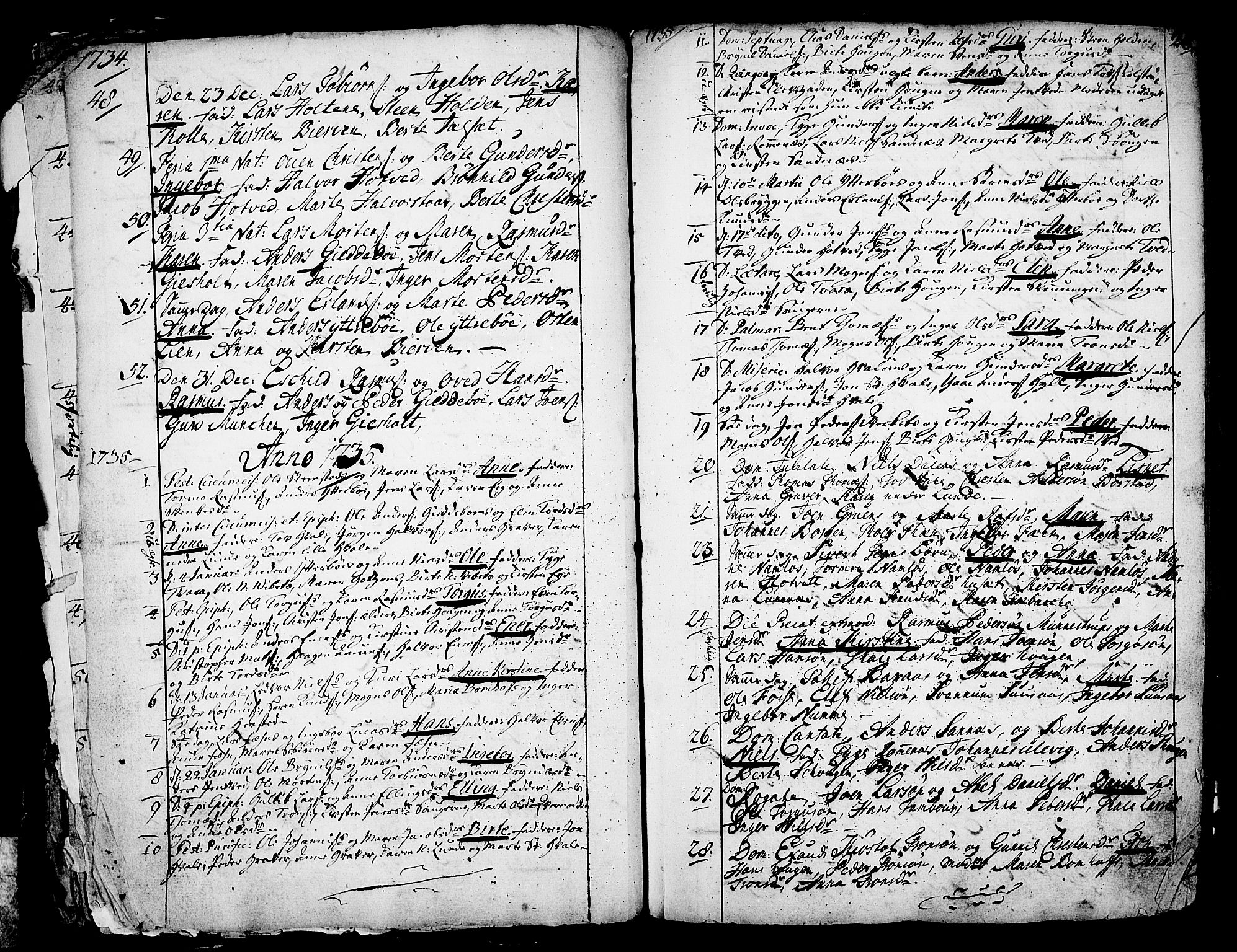 SAKO, Holla kirkebøker, F/Fa/L0001: Ministerialbok nr. 1, 1717-1779, s. 26