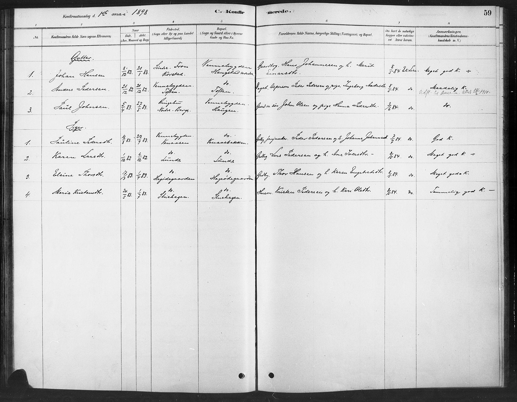 SAH, Ringebu prestekontor, Ministerialbok nr. 10, 1878-1898, s. 59