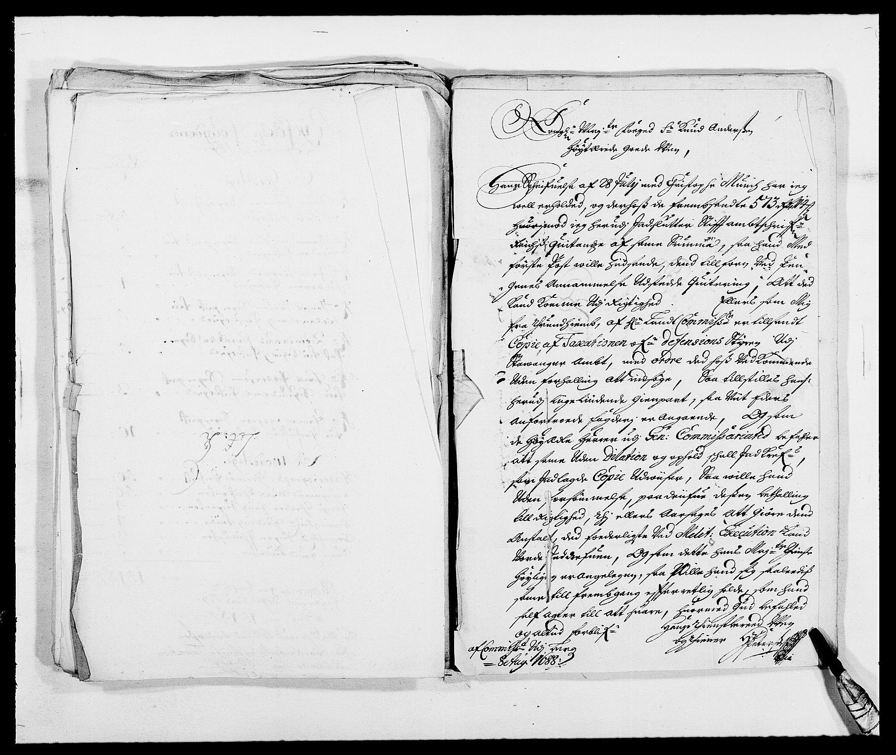 RA, Rentekammeret inntil 1814, Reviderte regnskaper, Fogderegnskap, R47/L2855: Fogderegnskap Ryfylke, 1685-1688, s. 391