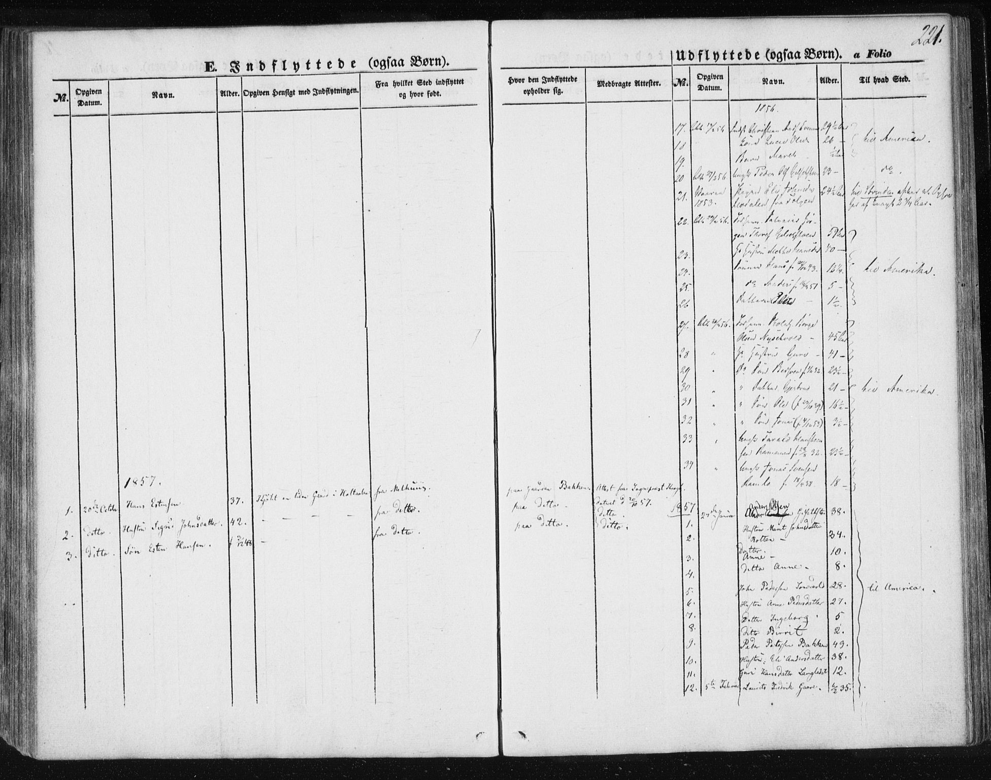 SAT, Ministerialprotokoller, klokkerbøker og fødselsregistre - Sør-Trøndelag, 685/L0963: Ministerialbok nr. 685A06 /1, 1846-1859, s. 221