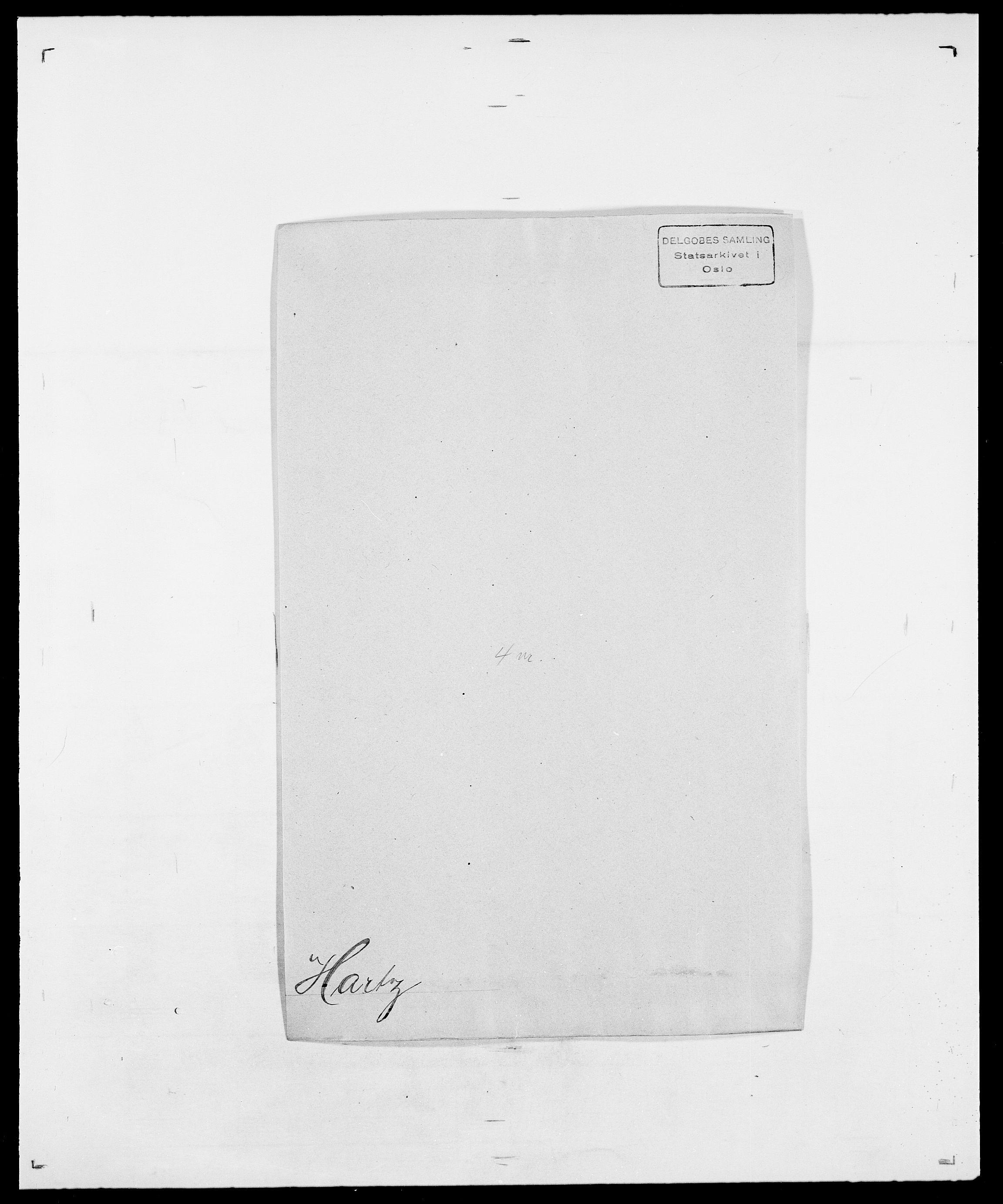 SAO, Delgobe, Charles Antoine - samling, D/Da/L0016: Hamborg - Hektoen, s. 463