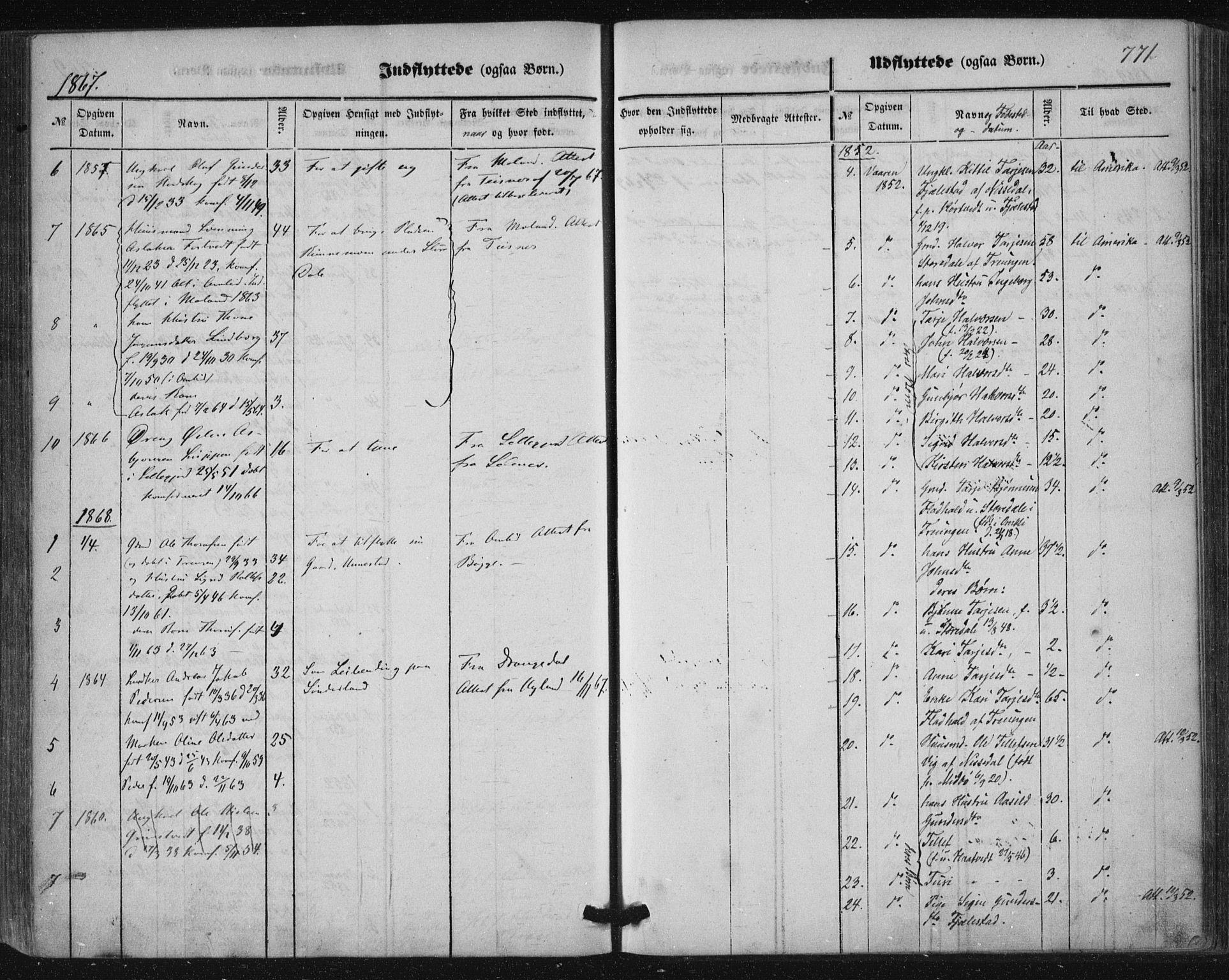 SAKO, Nissedal kirkebøker, F/Fa/L0003: Ministerialbok nr. I 3, 1846-1870, s. 770-771