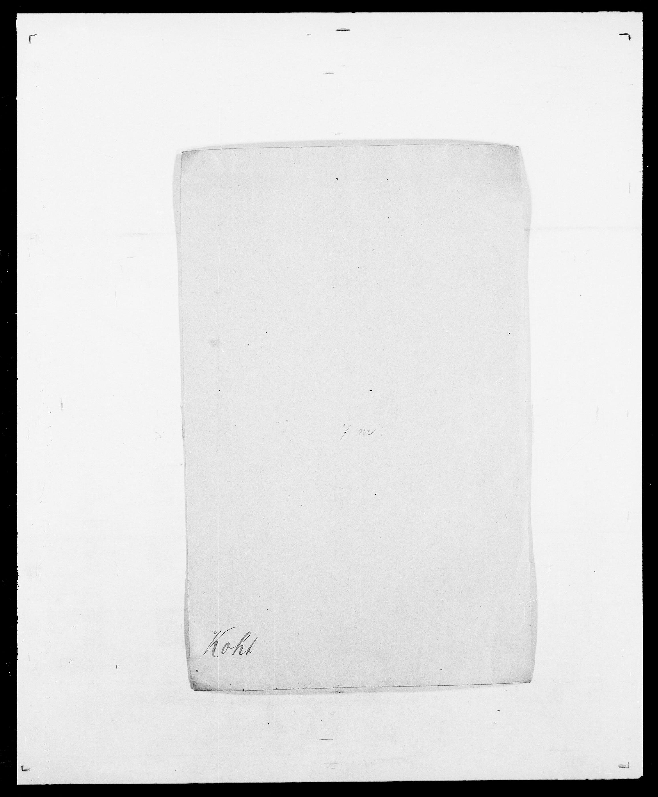 SAO, Delgobe, Charles Antoine - samling, D/Da/L0021: Klagenberg - Kristoft, s. 472