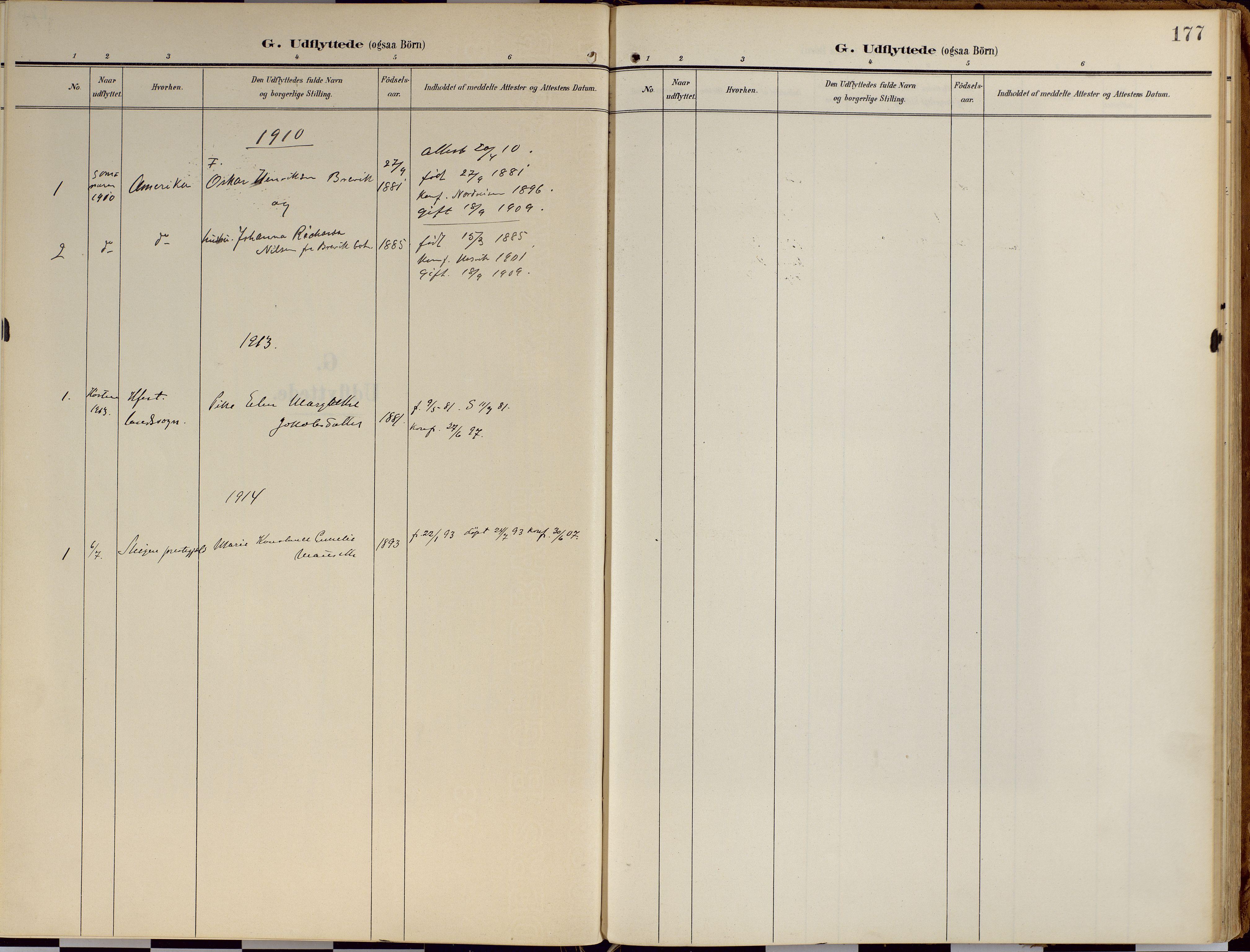 SATØ, Loppa sokneprestkontor, H/Ha/L0010kirke: Ministerialbok nr. 10, 1907-1922, s. 177