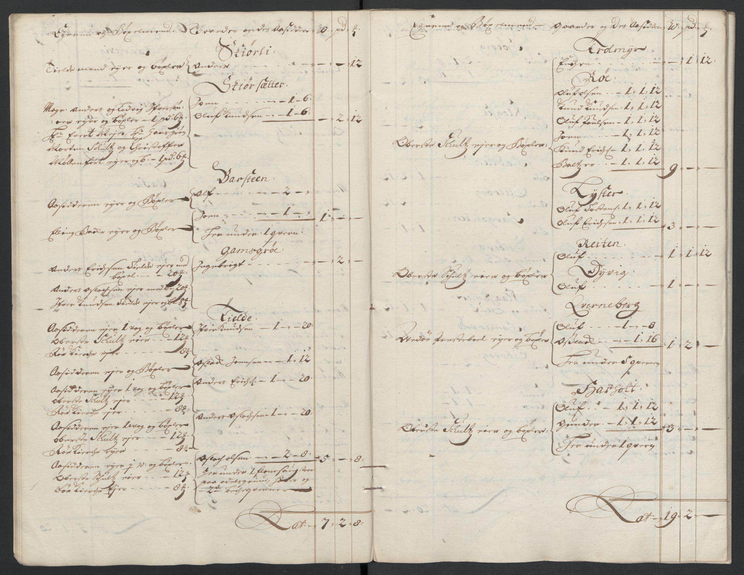 RA, Rentekammeret inntil 1814, Reviderte regnskaper, Fogderegnskap, R55/L3653: Fogderegnskap Romsdal, 1697-1698, s. 253