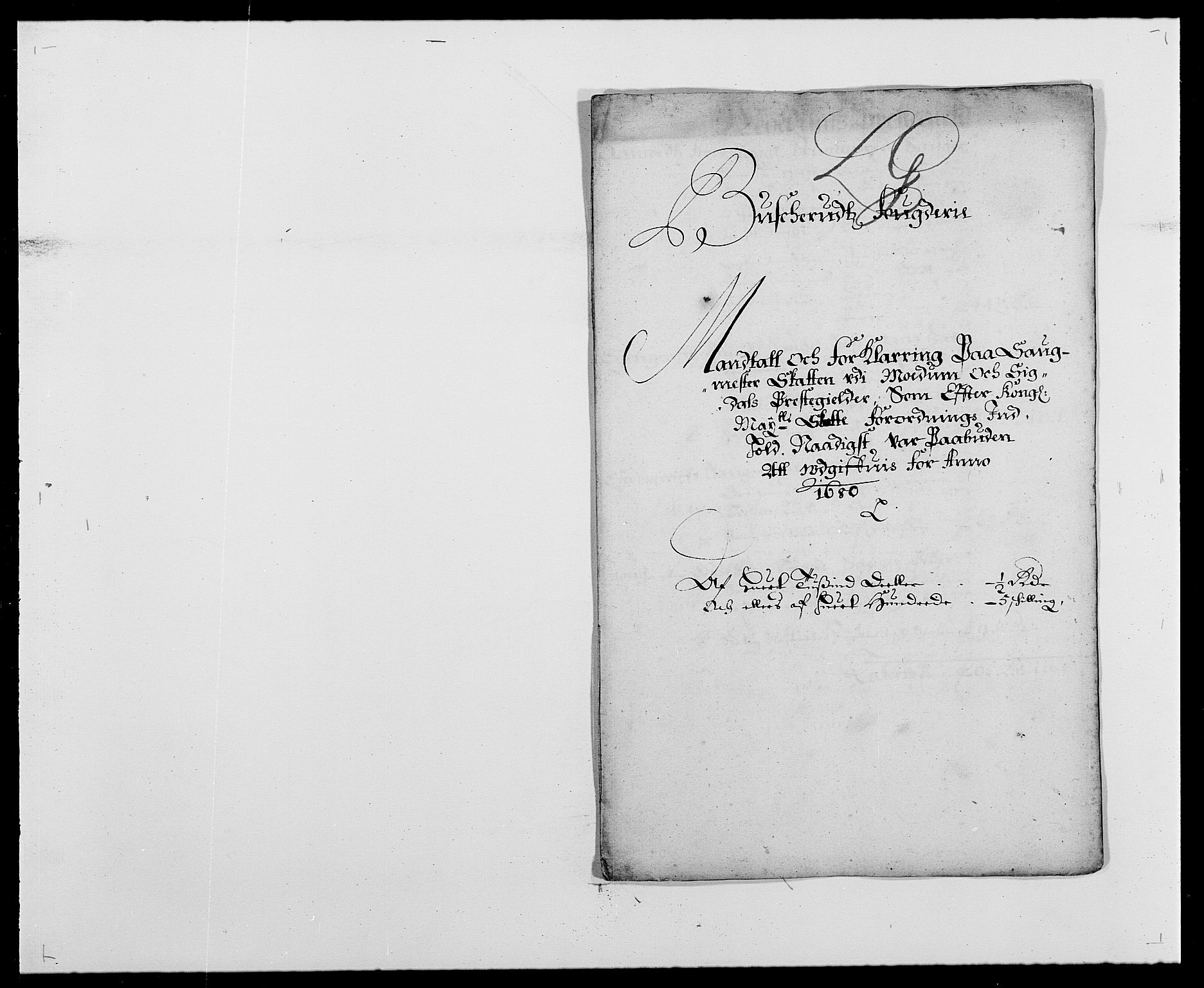 RA, Rentekammeret inntil 1814, Reviderte regnskaper, Fogderegnskap, R25/L1675: Fogderegnskap Buskerud, 1678-1681, s. 147