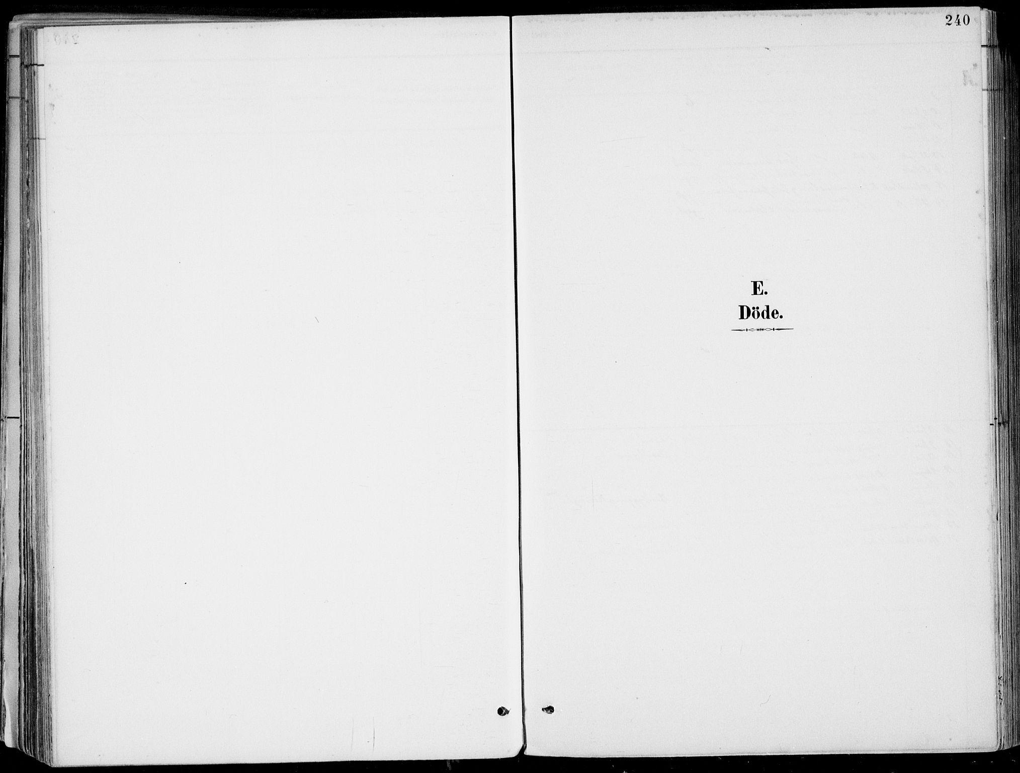 SAB, Strandebarm Sokneprestembete, H/Haa: Ministerialbok nr. E  1, 1886-1908, s. 240