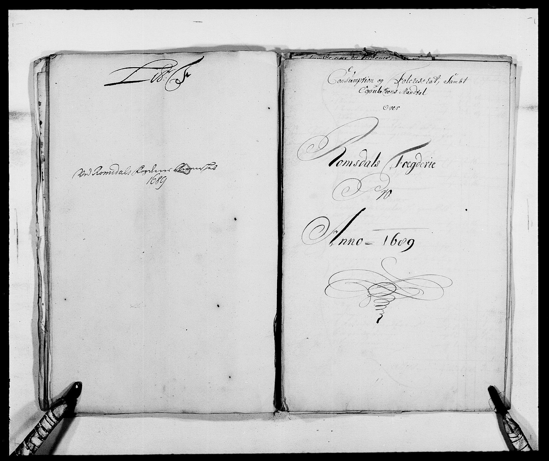 RA, Rentekammeret inntil 1814, Reviderte regnskaper, Fogderegnskap, R55/L3648: Fogderegnskap Romsdal, 1687-1689, s. 344