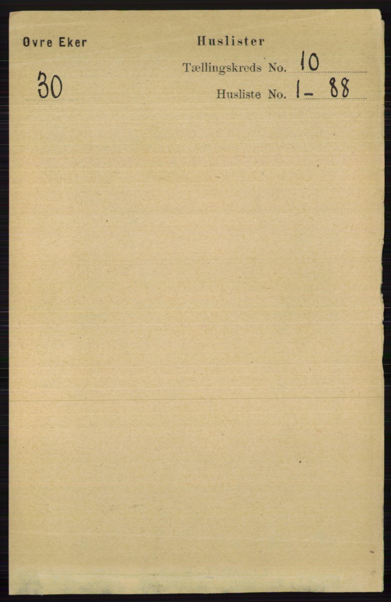 RA, Folketelling 1891 for 0624 Øvre Eiker herred, 1891, s. 3974