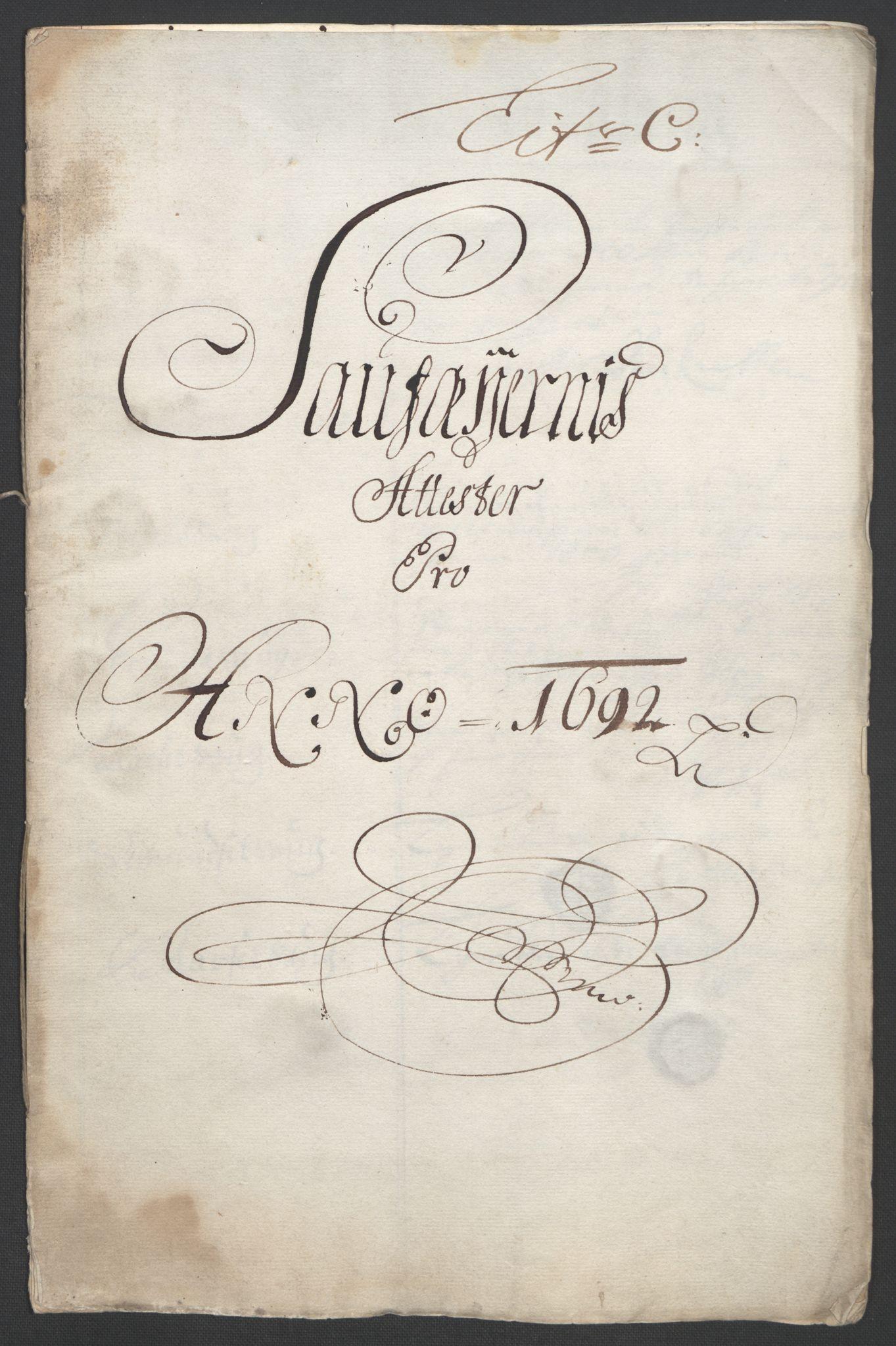 RA, Rentekammeret inntil 1814, Reviderte regnskaper, Fogderegnskap, R56/L3735: Fogderegnskap Nordmøre, 1692-1693, s. 70