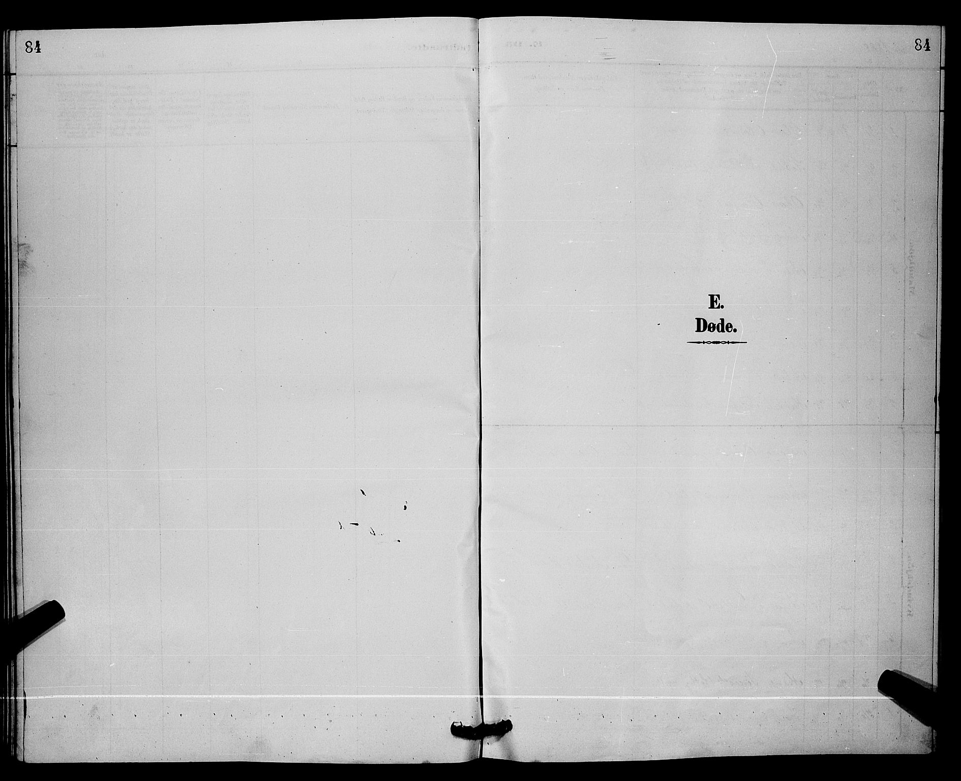 SAKO, Lunde kirkebøker, G/Ga/L0002: Klokkerbok nr. I 2, 1887-1896, s. 84