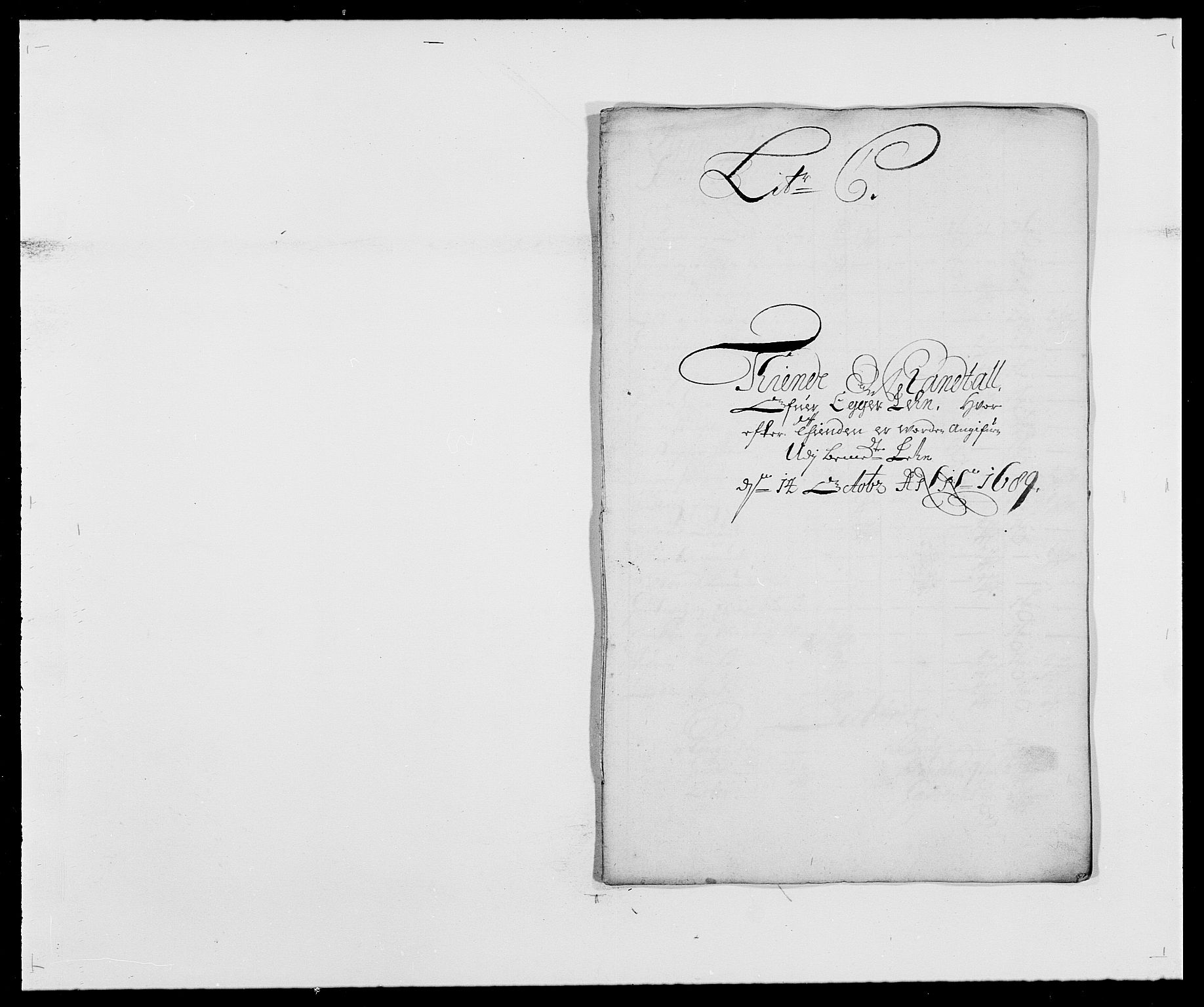 RA, Rentekammeret inntil 1814, Reviderte regnskaper, Fogderegnskap, R28/L1688: Fogderegnskap Eiker og Lier, 1687-1689, s. 346