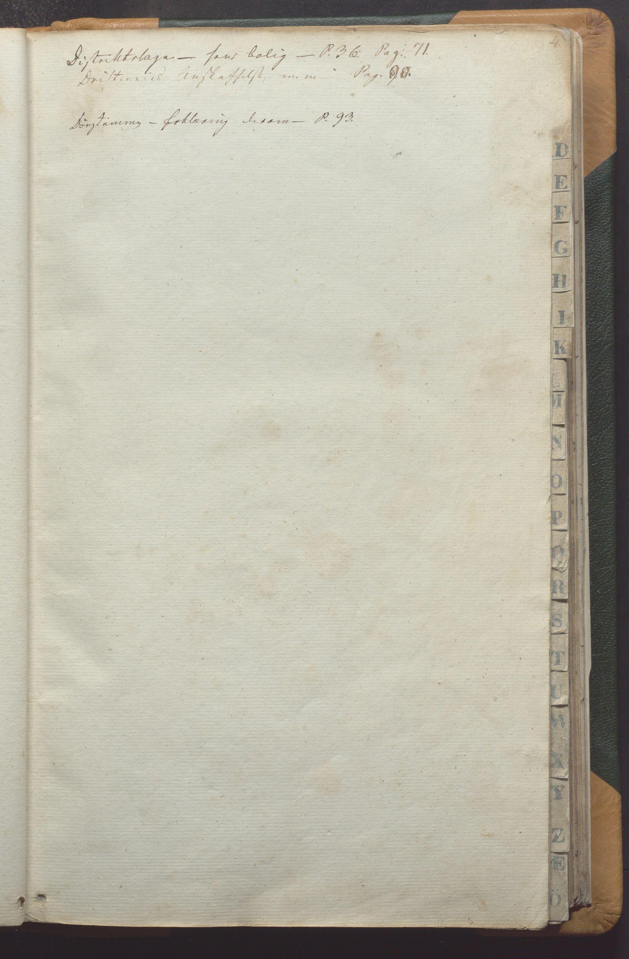 IKAR, Vikedal kommune - Formannskapet, Aaa/L0001: Møtebok, 1837-1874, s. 4