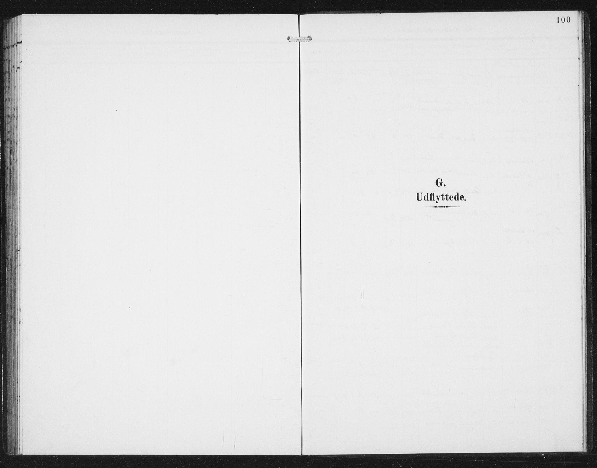 SAB, Aurland Sokneprestembete*, Klokkerbok nr. C 3, 1901-1933, s. 100