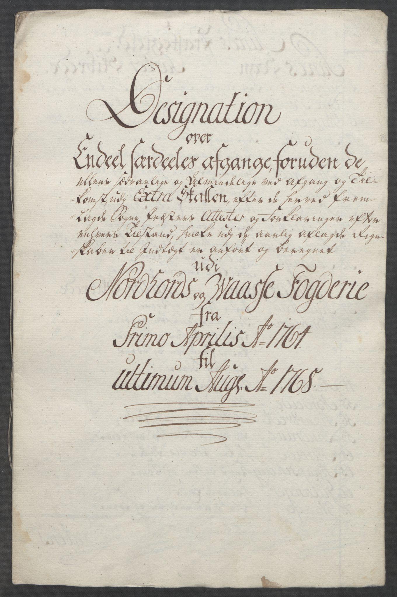 RA, Rentekammeret inntil 1814, Reviderte regnskaper, Fogderegnskap, R51/L3303: Ekstraskatten Nordhordland og Voss, 1762-1772, s. 202