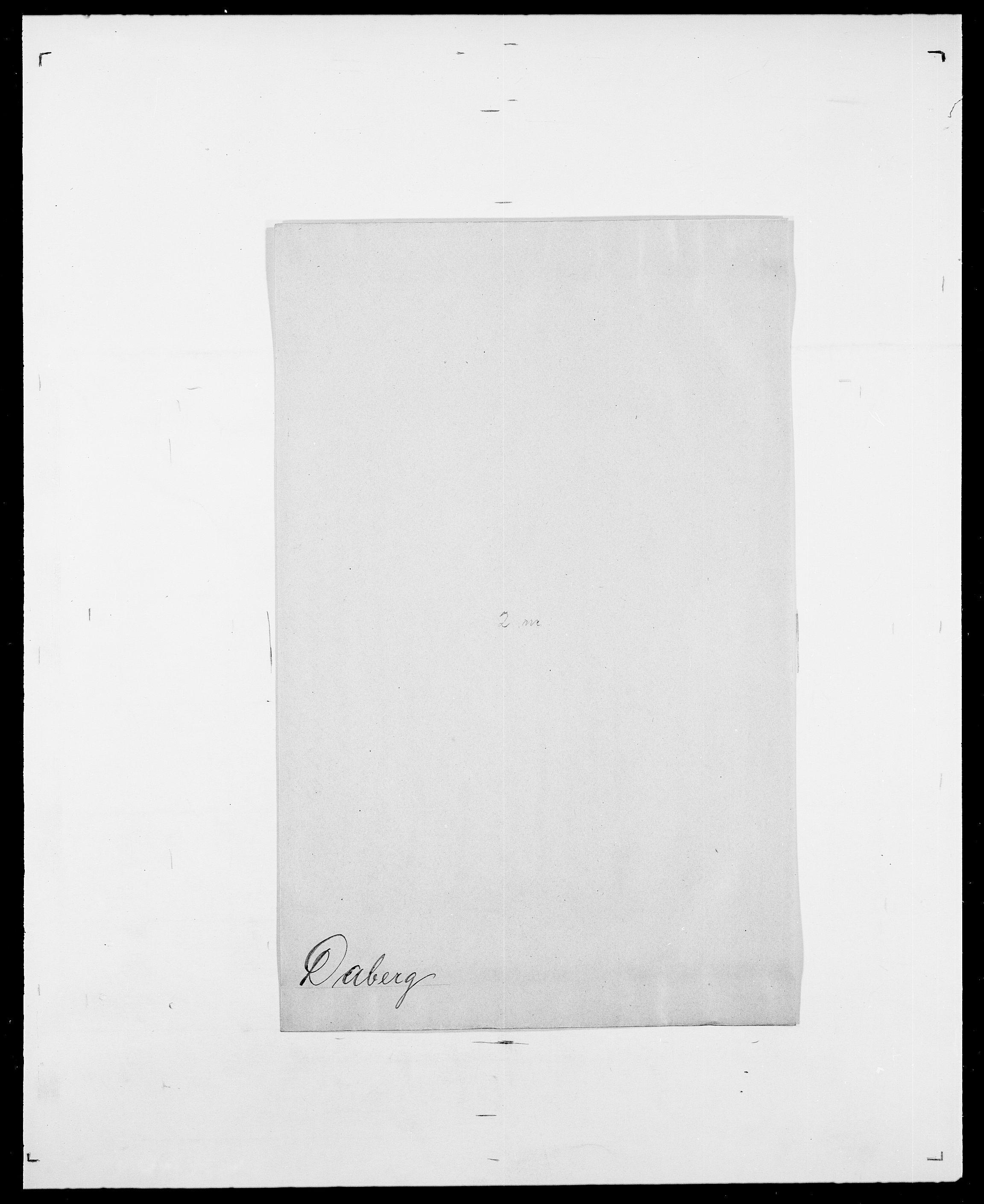 SAO, Delgobe, Charles Antoine - samling, D/Da/L0008: Capjon - Dagenbolt, s. 695